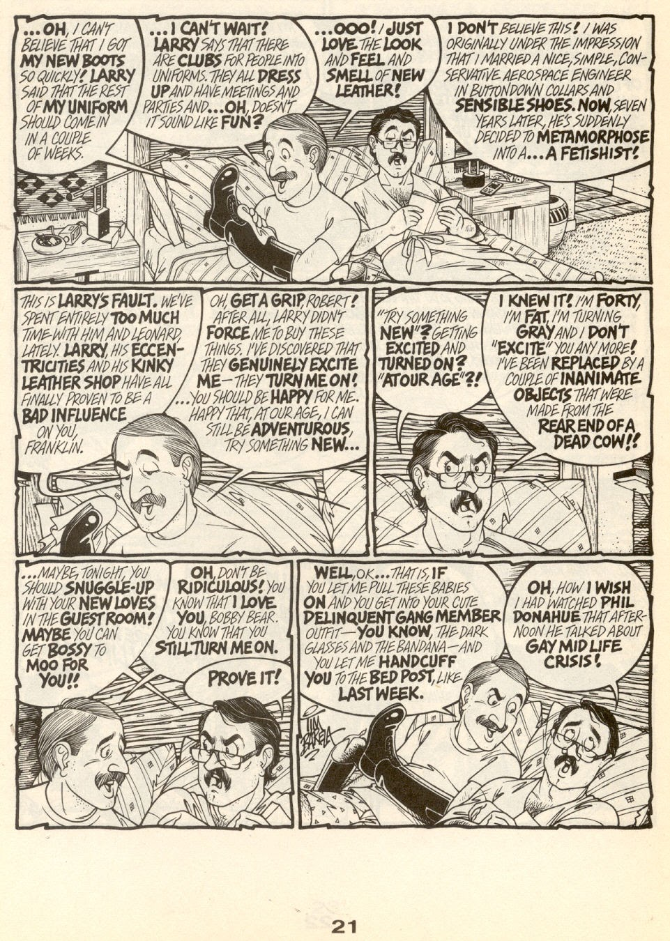 Gay Comix (Gay Comics) issue _Special_1 - Page 24