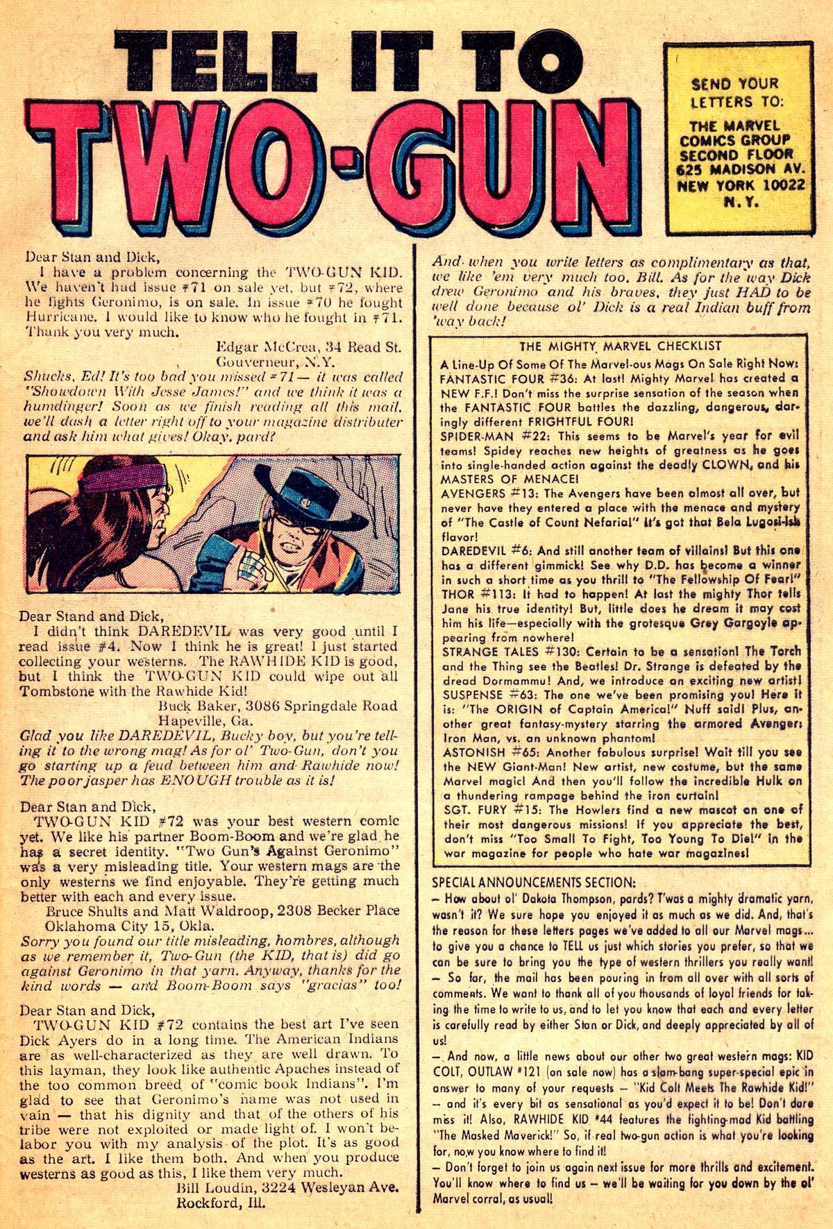 Read online Two-Gun Kid comic -  Issue #74 - 33