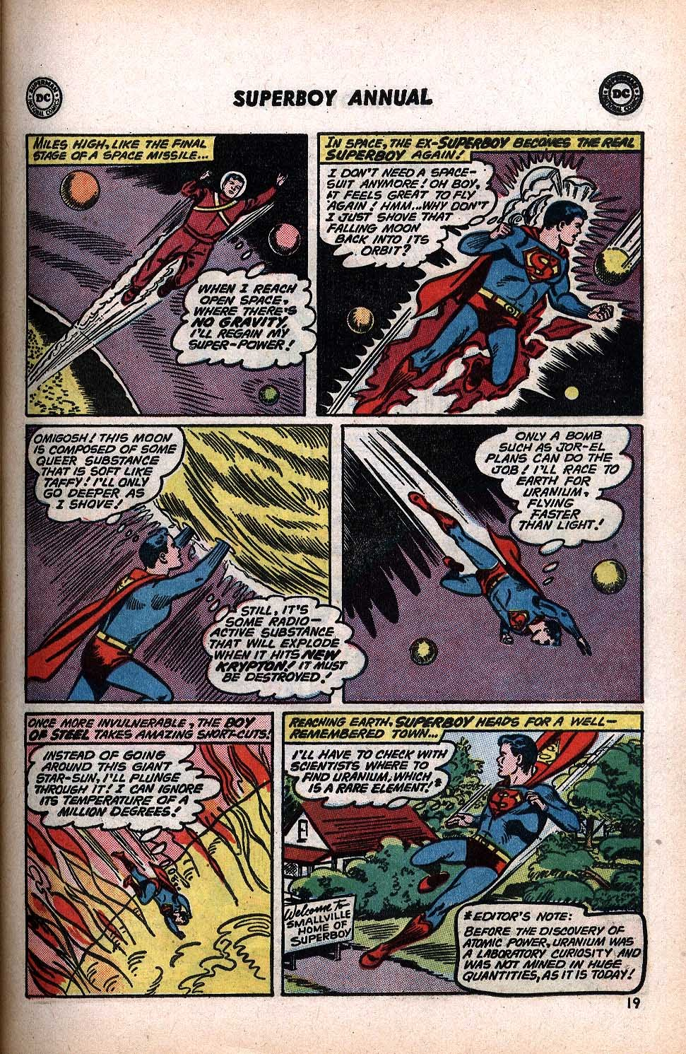 Superboy (1949) issue Annual 1 - Page 21