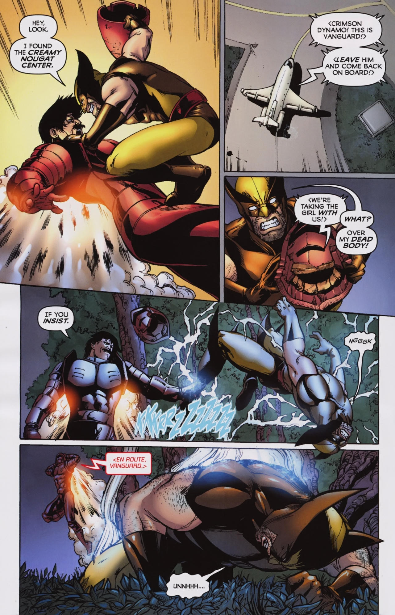 Read online Wolverine: First Class comic -  Issue #7 - 14