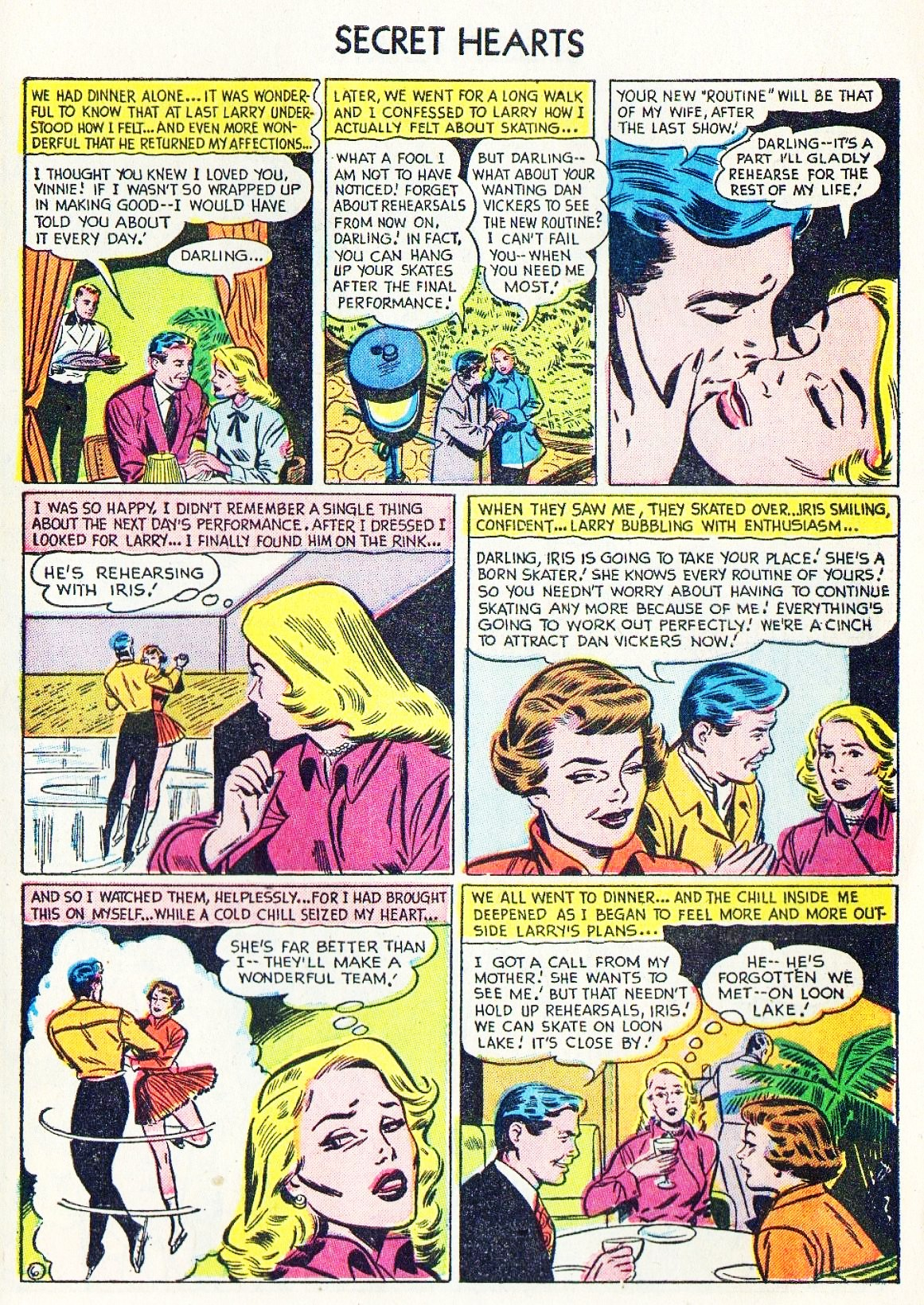 Read online Secret Hearts comic -  Issue #15 - 31
