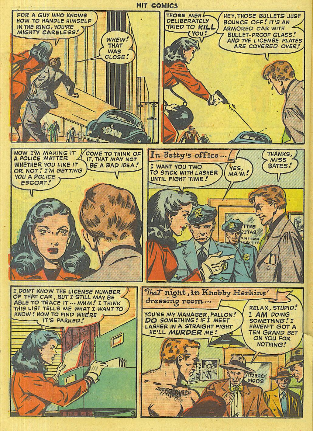 Read online Hit Comics comic -  Issue #56 - 34