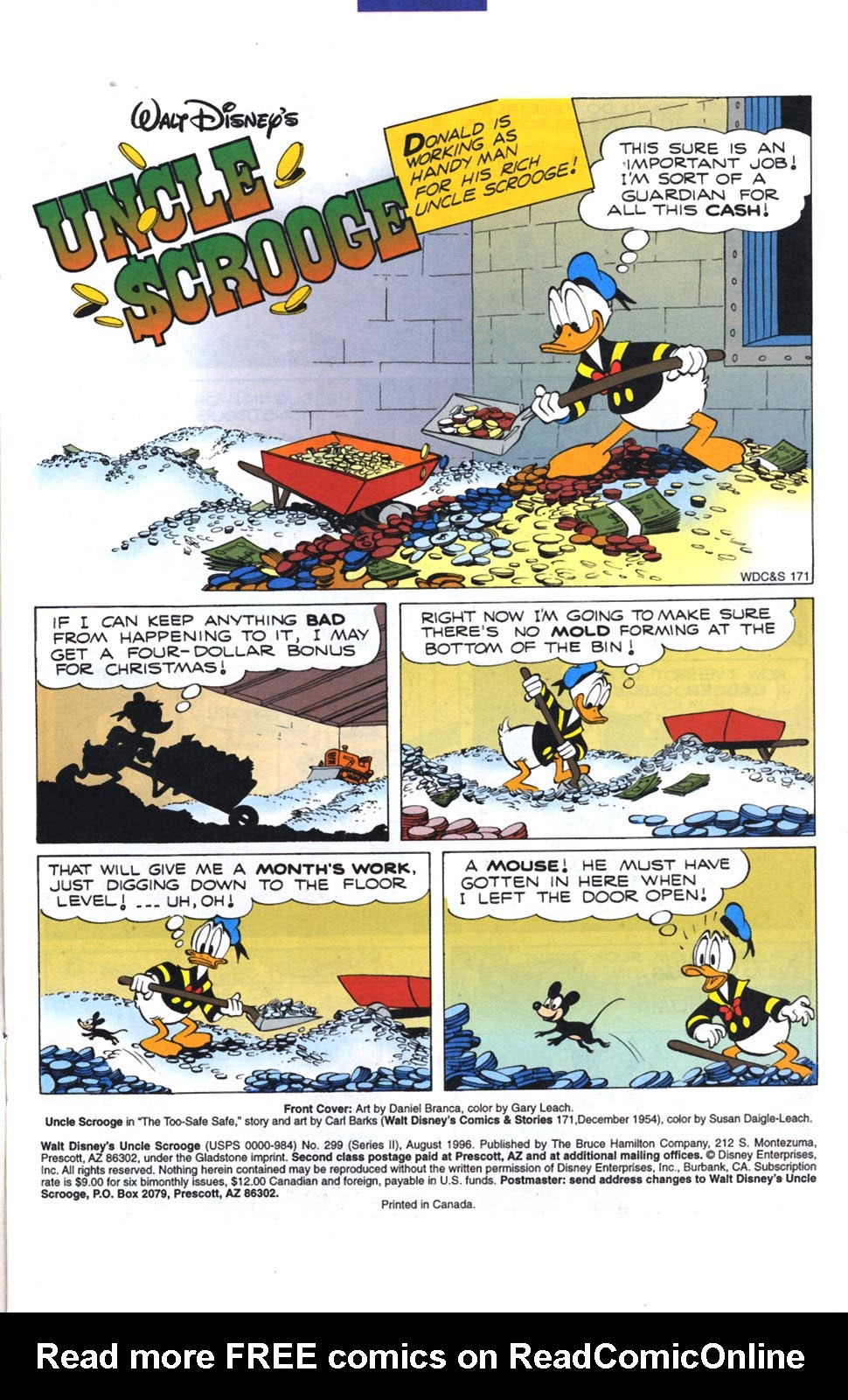 Read online Uncle Scrooge (1953) comic -  Issue #299 - 2