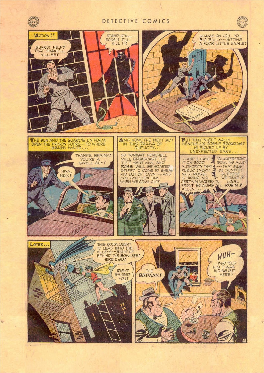 Read online Detective Comics (1937) comic -  Issue #92 - 8