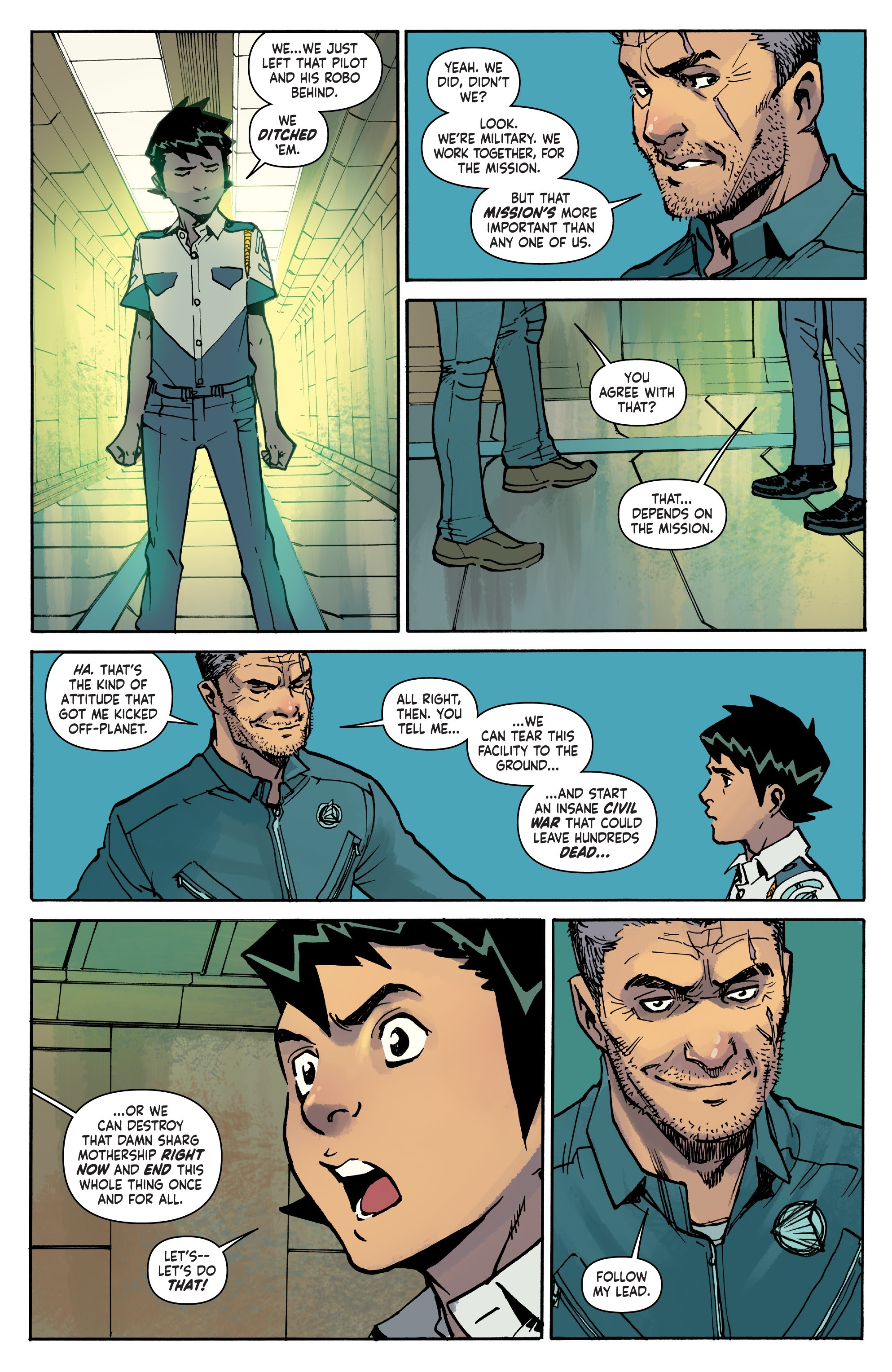 Mech Cadet Yu #_TPB_2 #15 - English 70