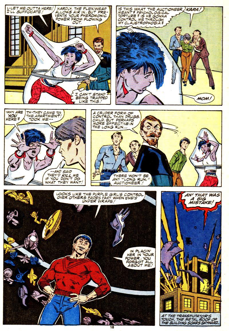 Read online Alpha Flight (1983) comic -  Issue #42 - 19