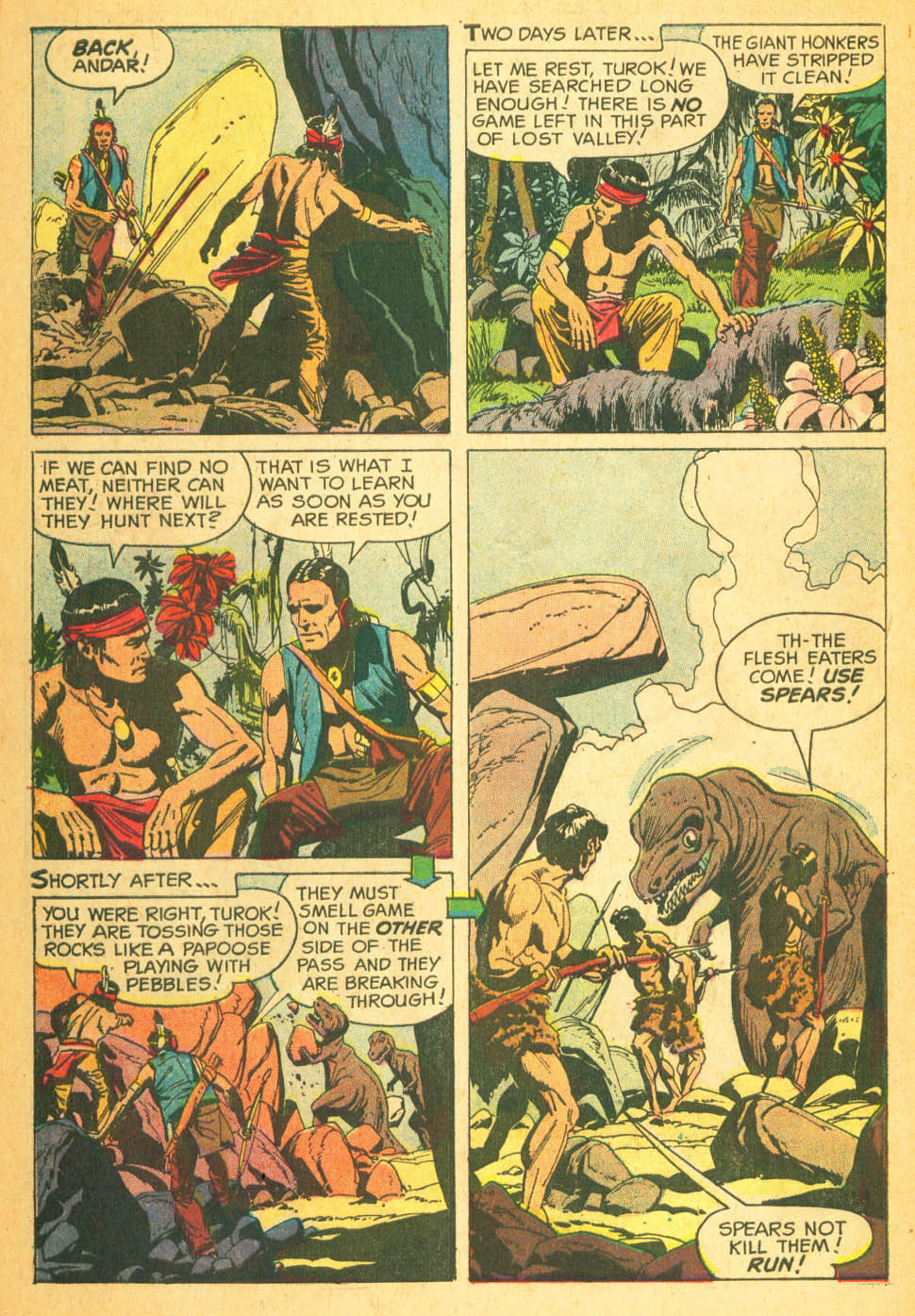 Read online Turok, Son of Stone comic -  Issue #27 - 30