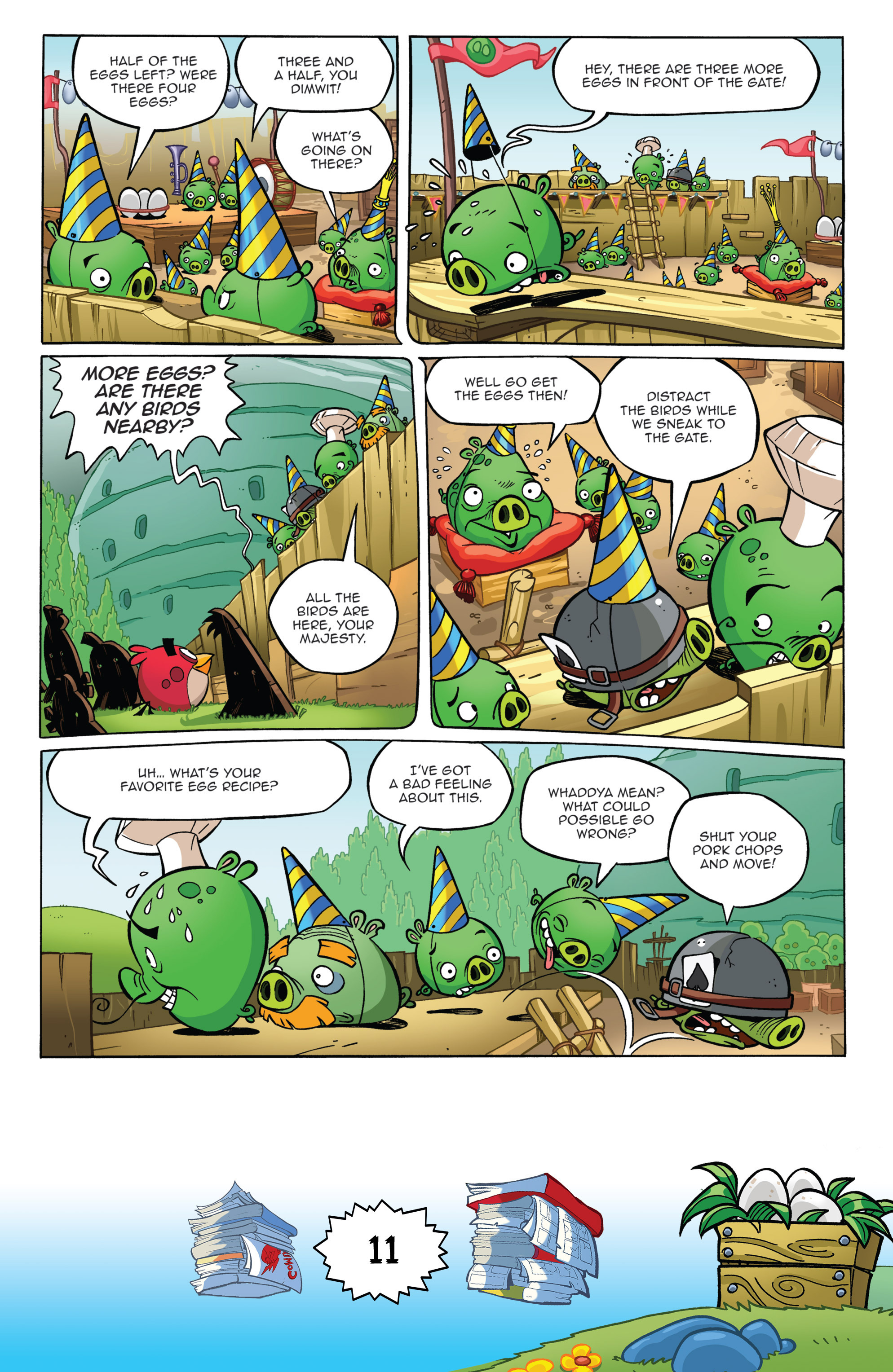 Read online Angry Birds Comics (2016) comic -  Issue #6 - 13