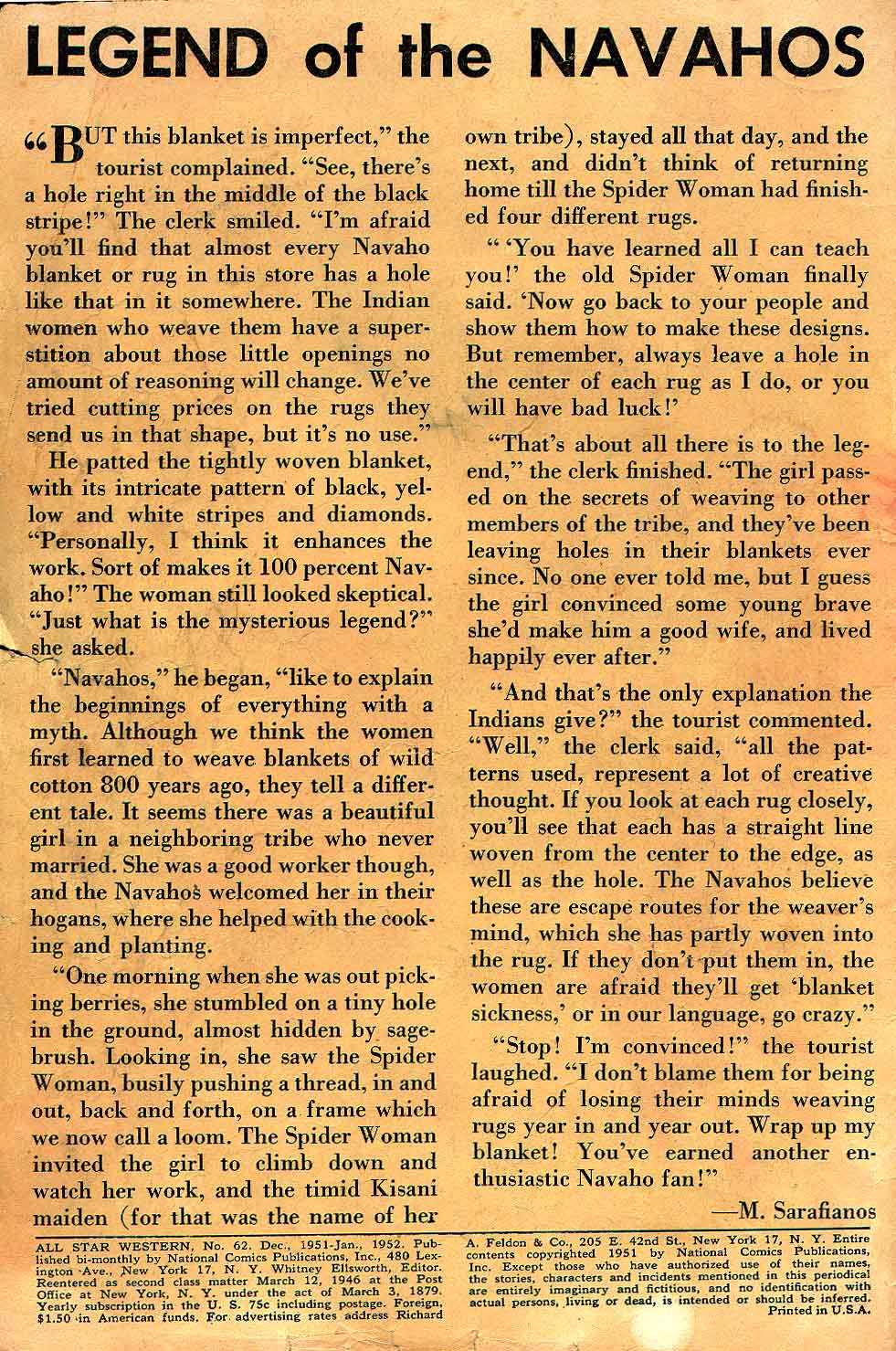 Read online All-Star Western (1951) comic -  Issue #62 - 2