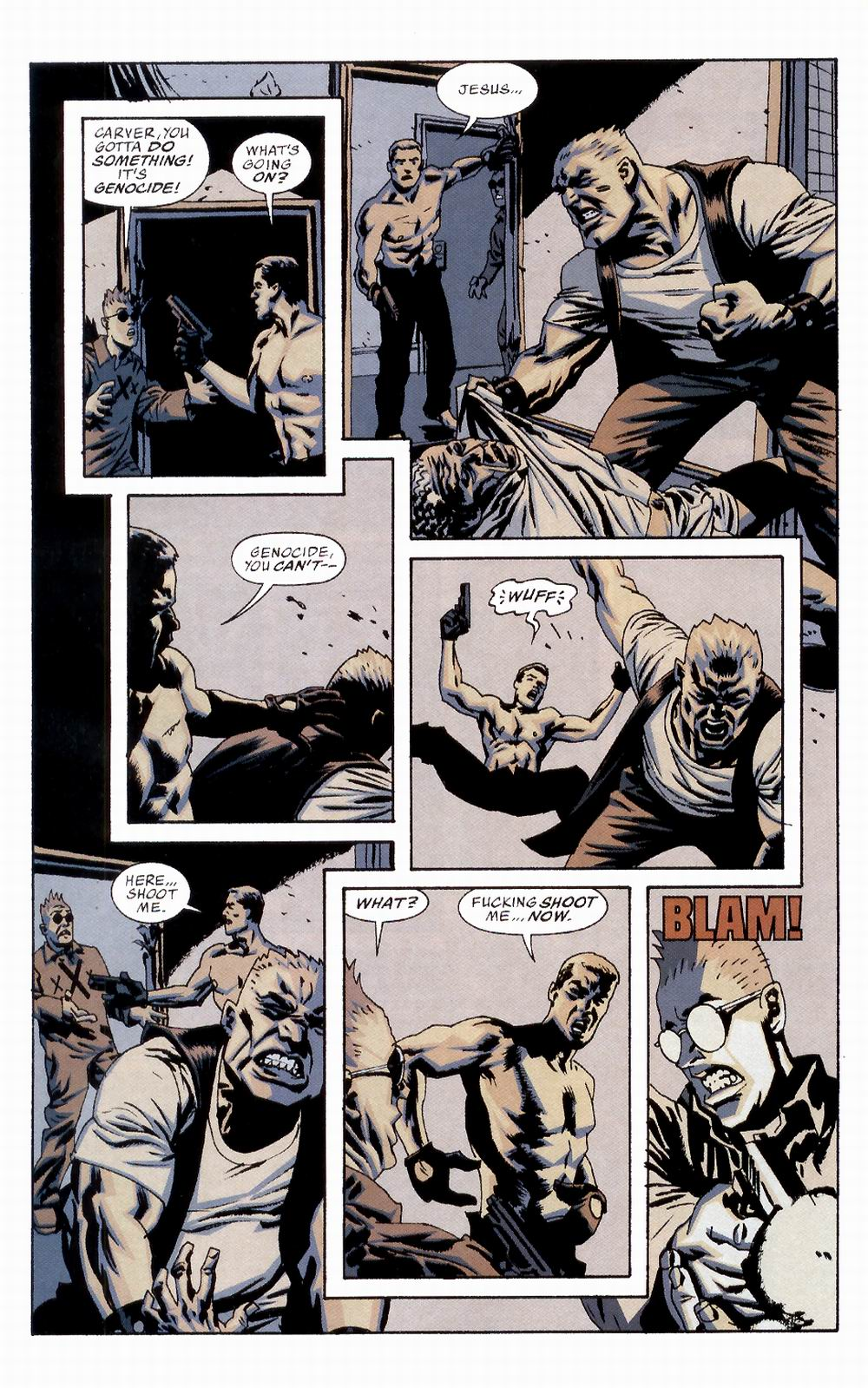 Read online Sleeper comic -  Issue #2 - 22