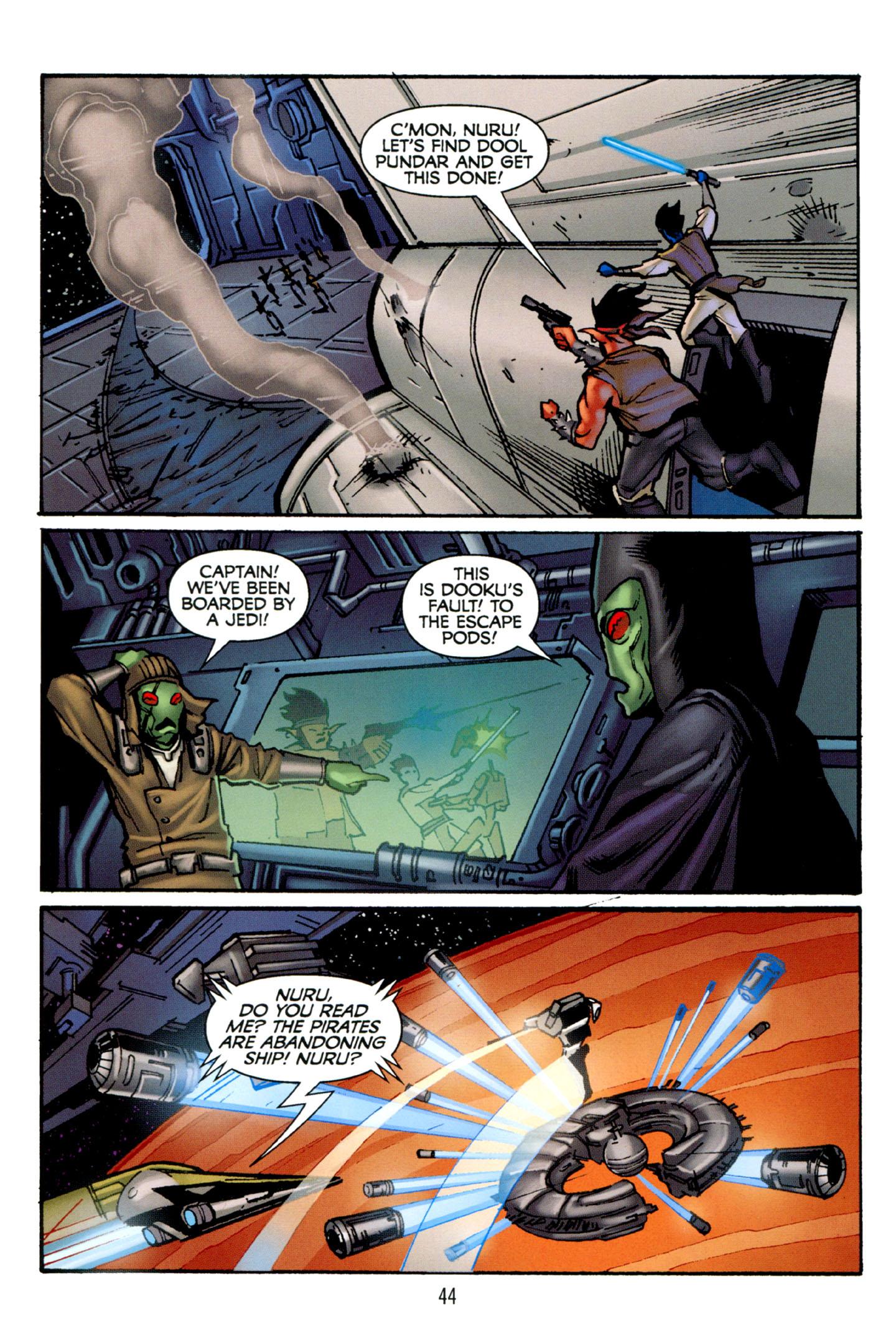 Read online Star Wars: The Clone Wars - Strange Allies comic -  Issue # Full - 45