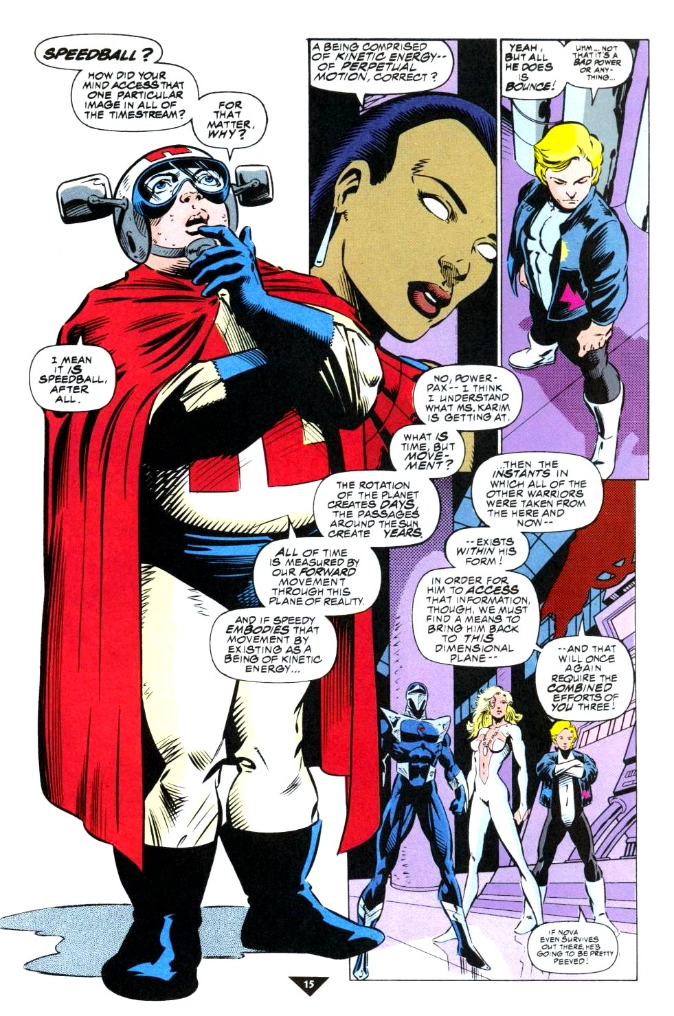 The New Warriors Issue #50 #54 - English 12