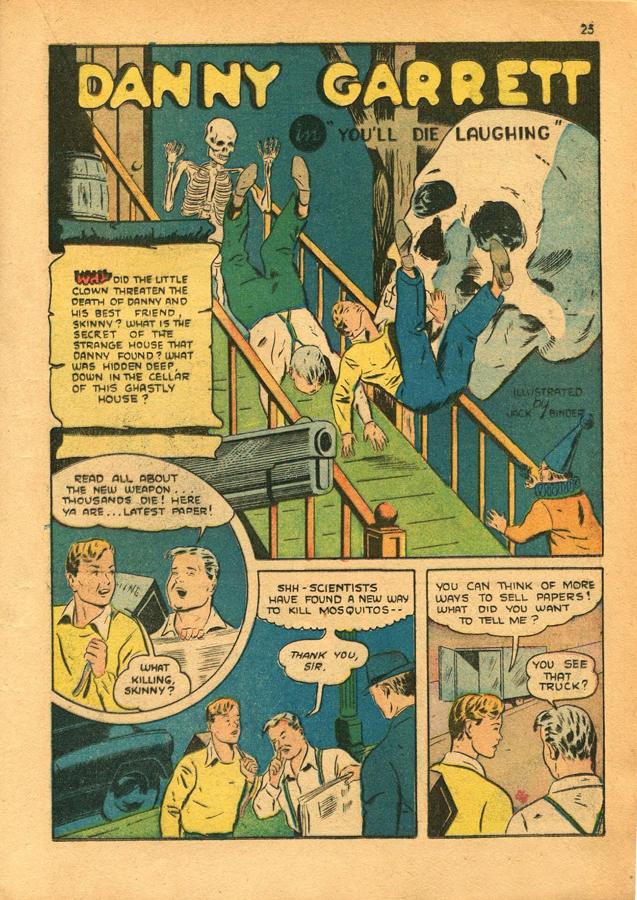 Read online Shadow Comics comic -  Issue #23 - 25
