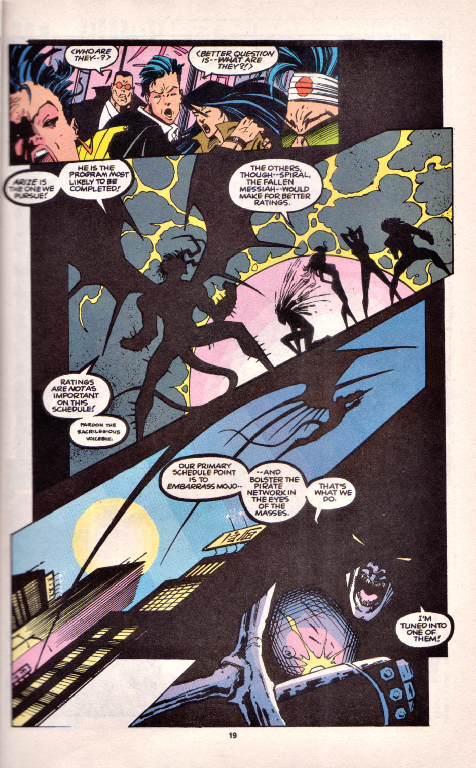 Read online Uncanny X-Men (1963) comic -  Issue # _Annual 16 - 17