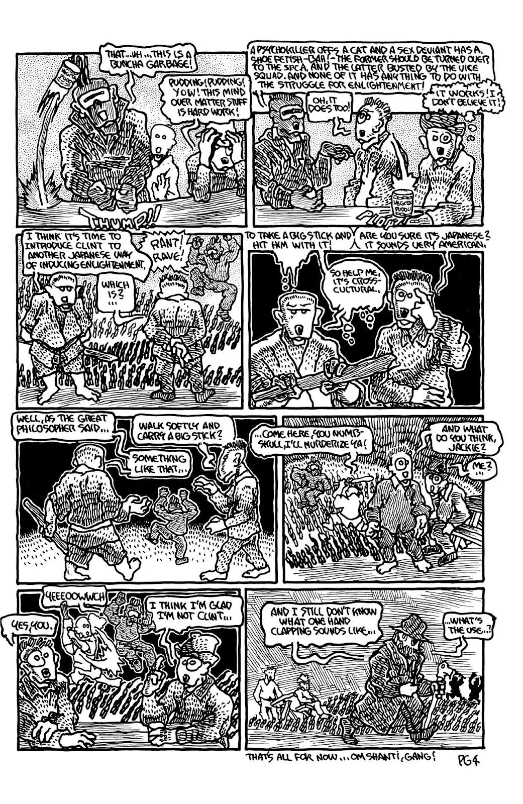 Adolescent Radioactive Black Belt Hamsters (1986) issue 9 - Page 16