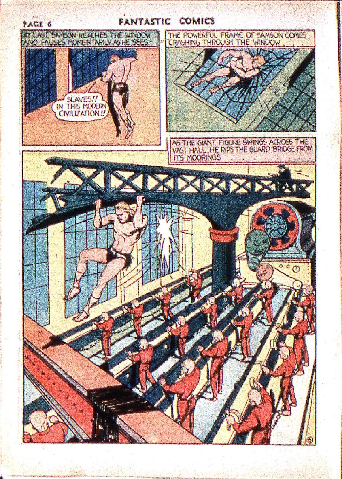 Read online Fantastic Comics comic -  Issue #2 - 8
