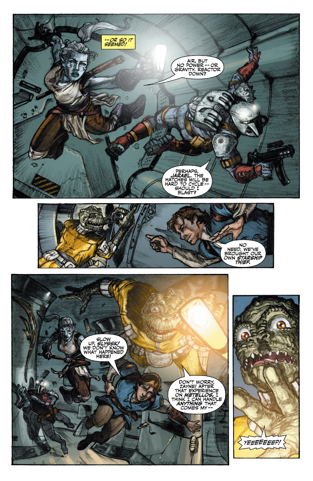 Read online Star Wars Legends: The Old Republic - Epic Collection comic -  Issue # TPB 3 (Part 1) - 10