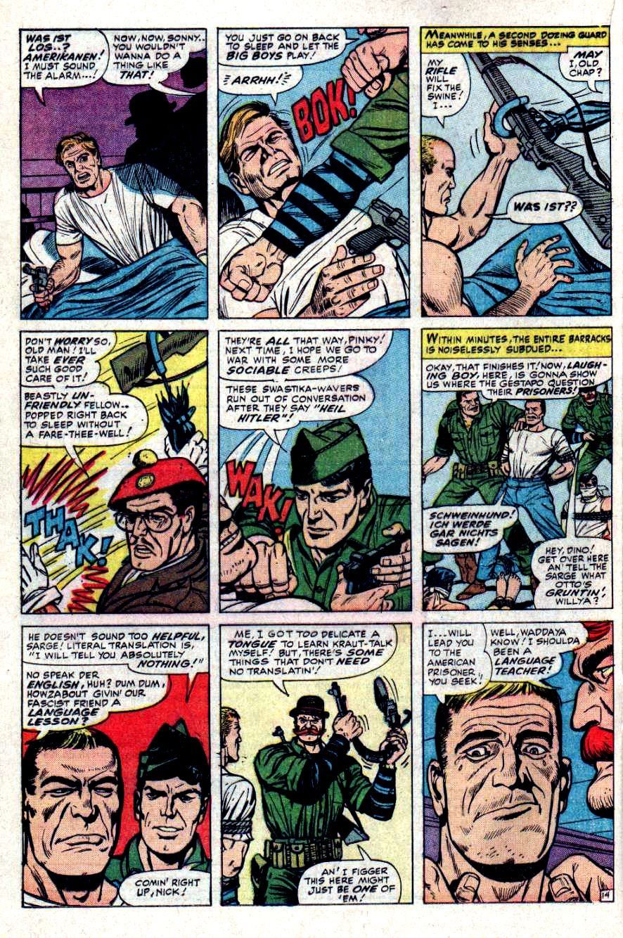 Read online Sgt. Fury comic -  Issue #31 - 20
