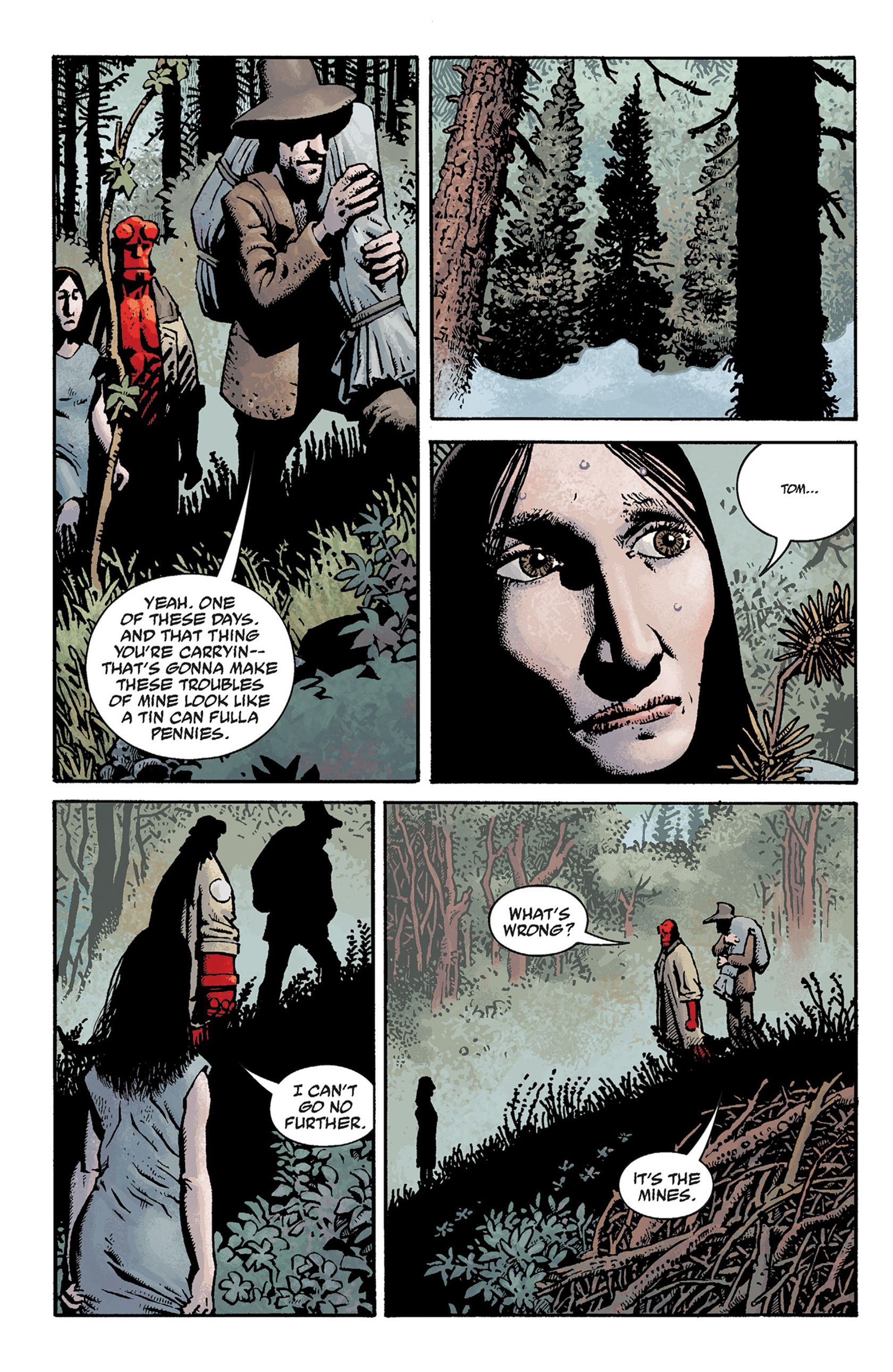 Read online Hellboy: The Crooked Man and Others comic -  Issue # TPB - 36