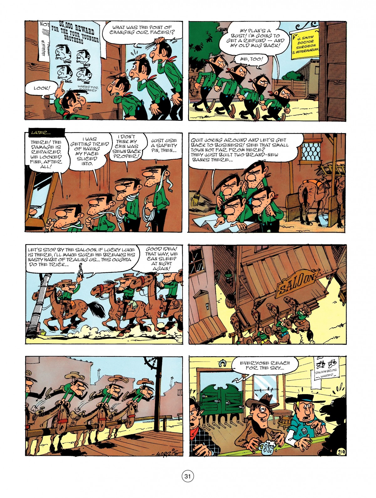 Read online A Lucky Luke Adventure comic -  Issue #47 - 31