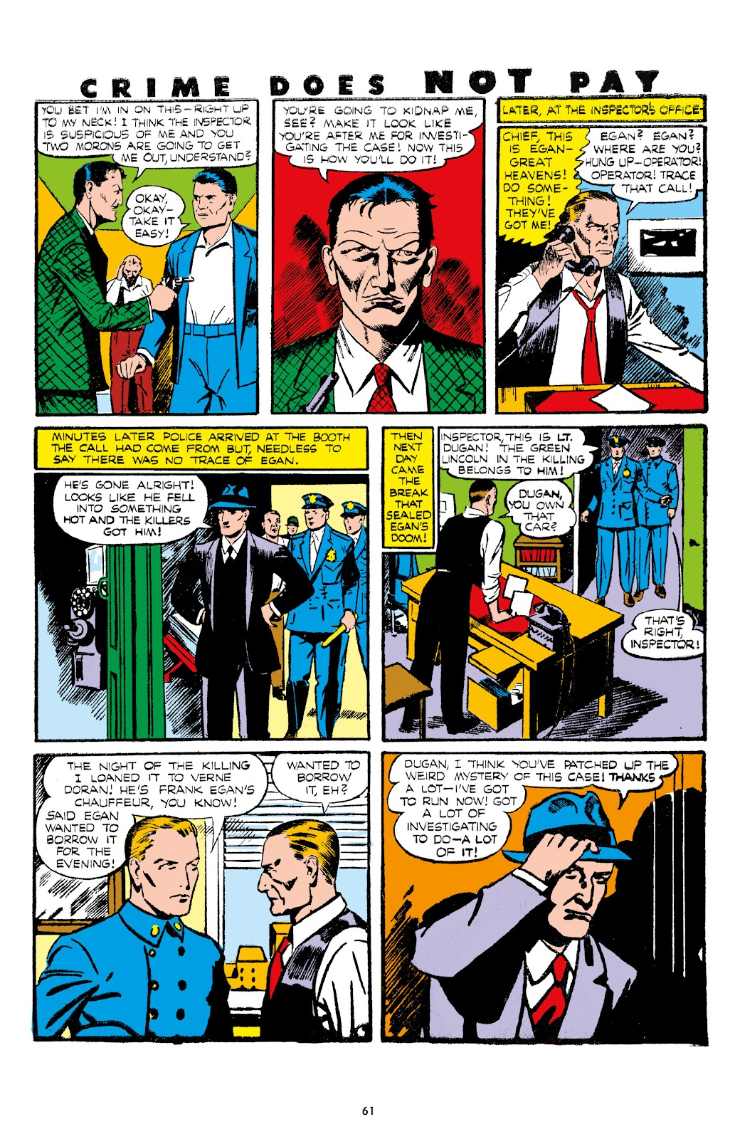 Read online Crime Does Not Pay Archives comic -  Issue # TPB 7 (Part 1) - 63