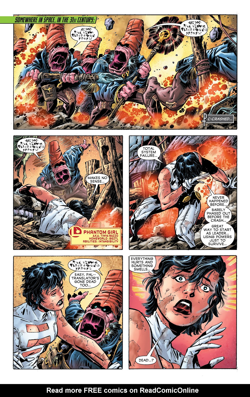Legion of Super-Heroes (2011) Issue #17 #18 - English 2