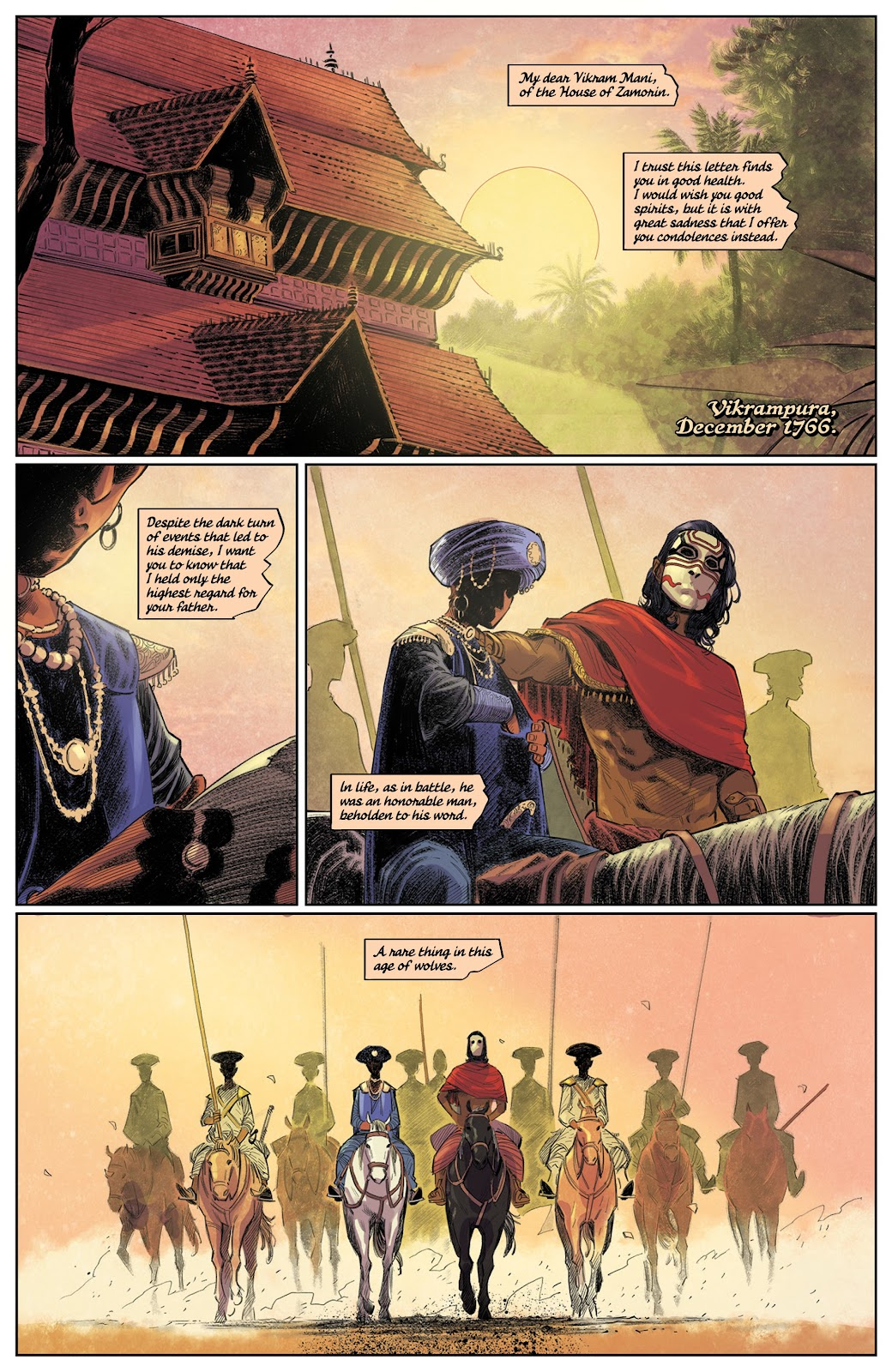 Read online These Savage Shores comic -  Issue #3 - 4
