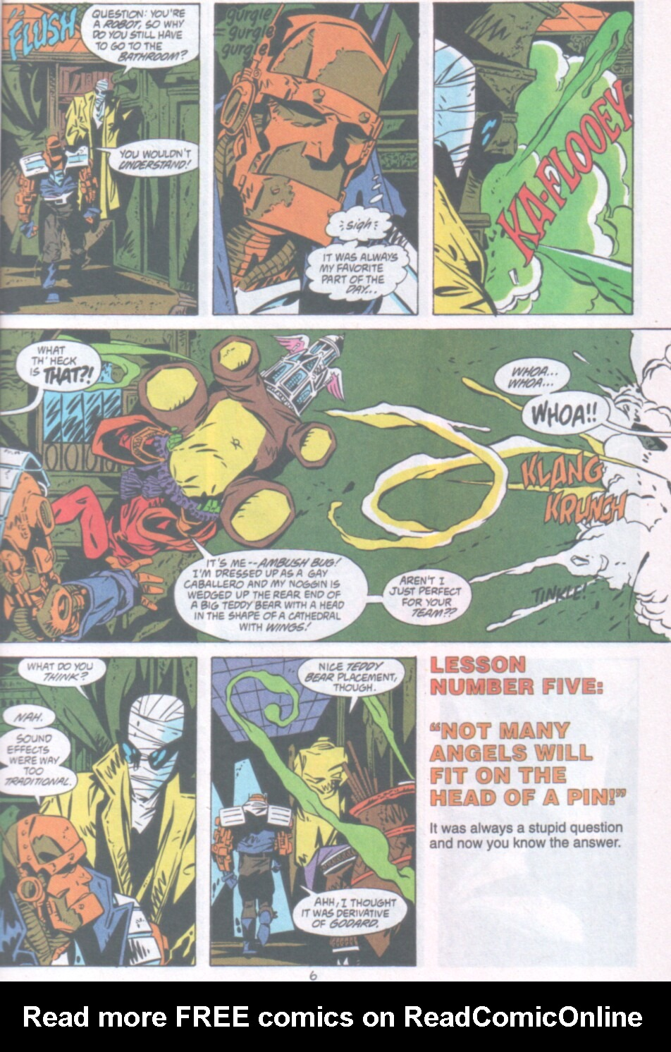 Read online Ambush Bug Nothing Special comic -  Issue # Full - 7