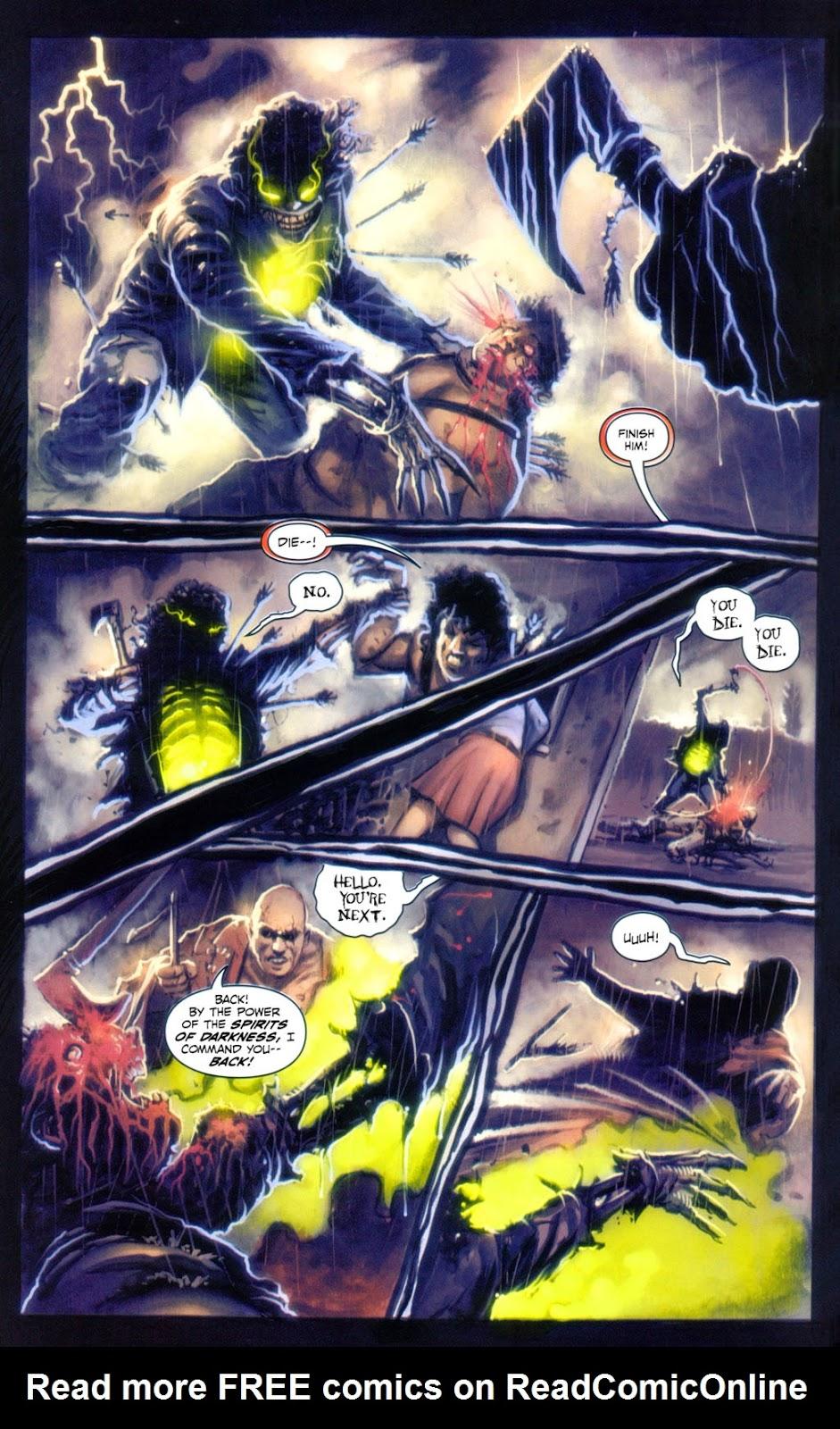 Read online Evil Ernie in Santa Fe comic -  Issue #2 - 10