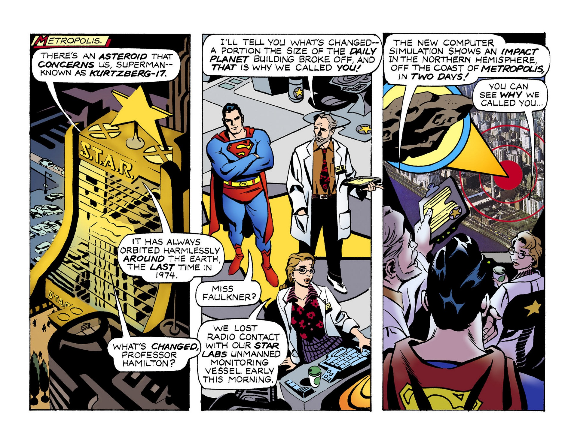 Read online Adventures of Superman [I] comic -  Issue #51 - 3
