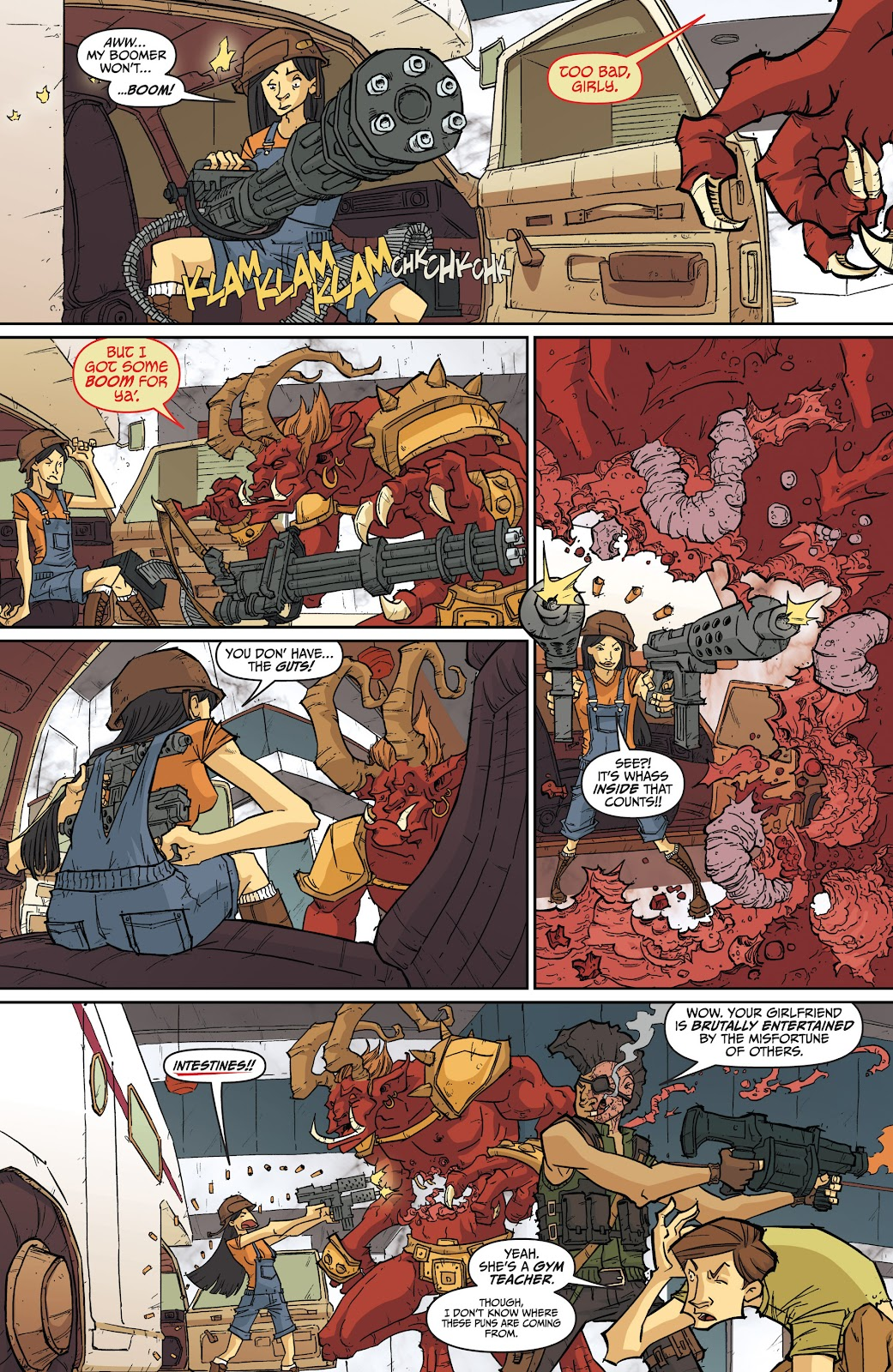 Read online The End Times of Bram and Ben comic -  Issue #4 - 16