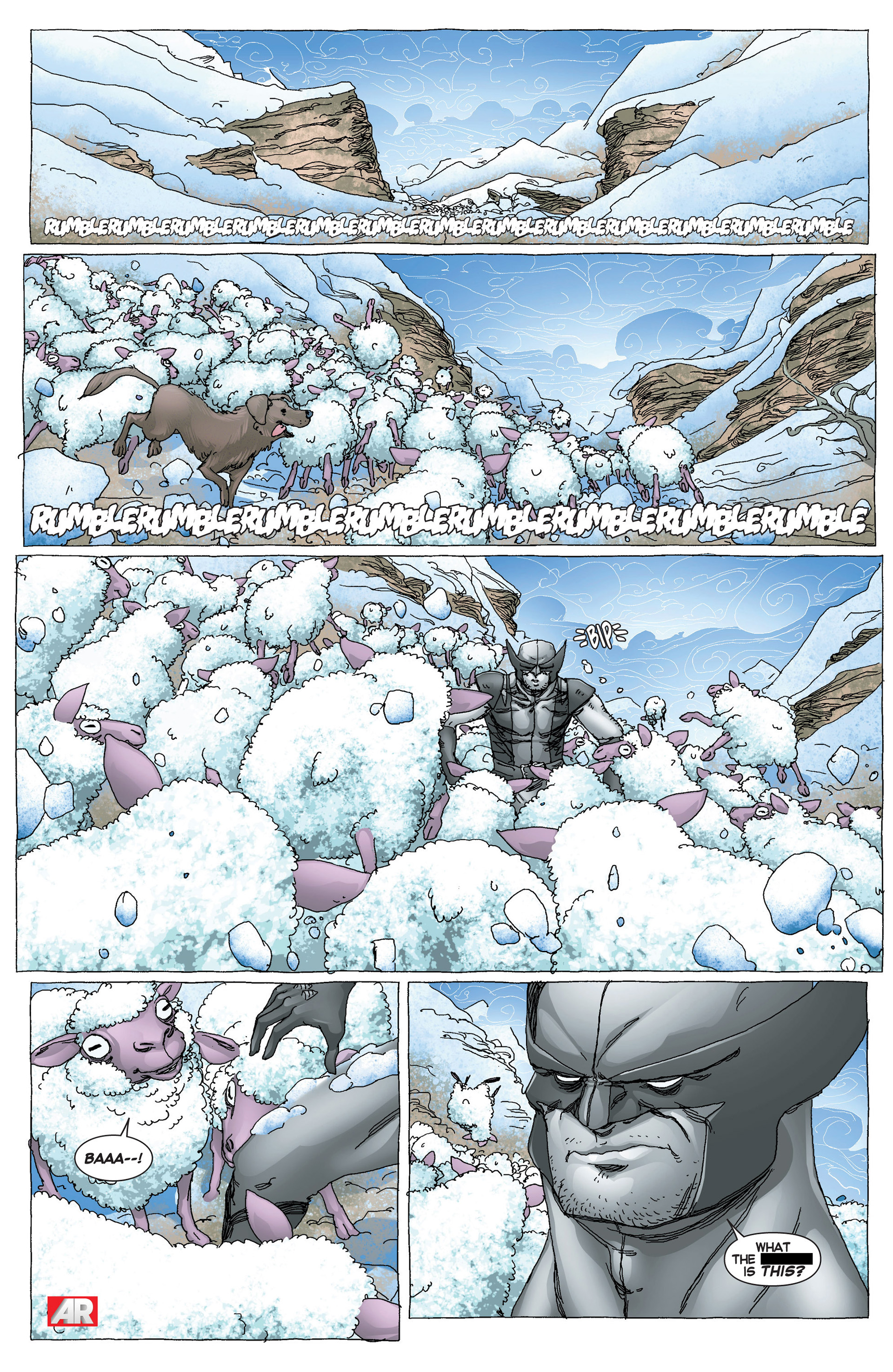 Read online Uncanny X-Force (2013) comic -  Issue #6 - 3