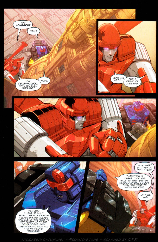 Read online Transformers Armada comic -  Issue #1 - 15