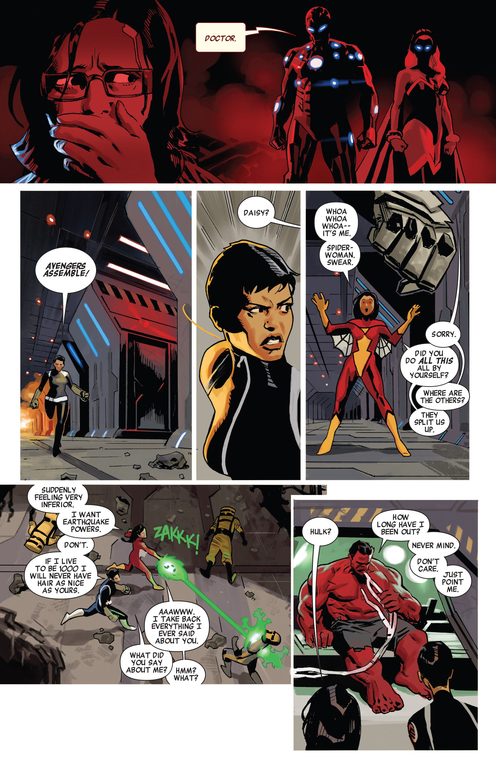 Read online Avengers (2010) comic -  Issue #23 - 16
