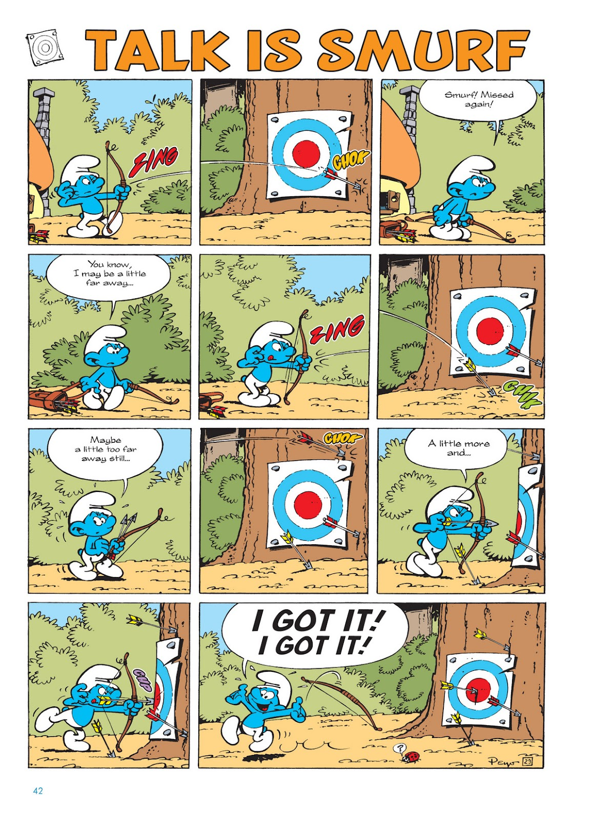 Read online The Smurfs comic -  Issue #11 - 42