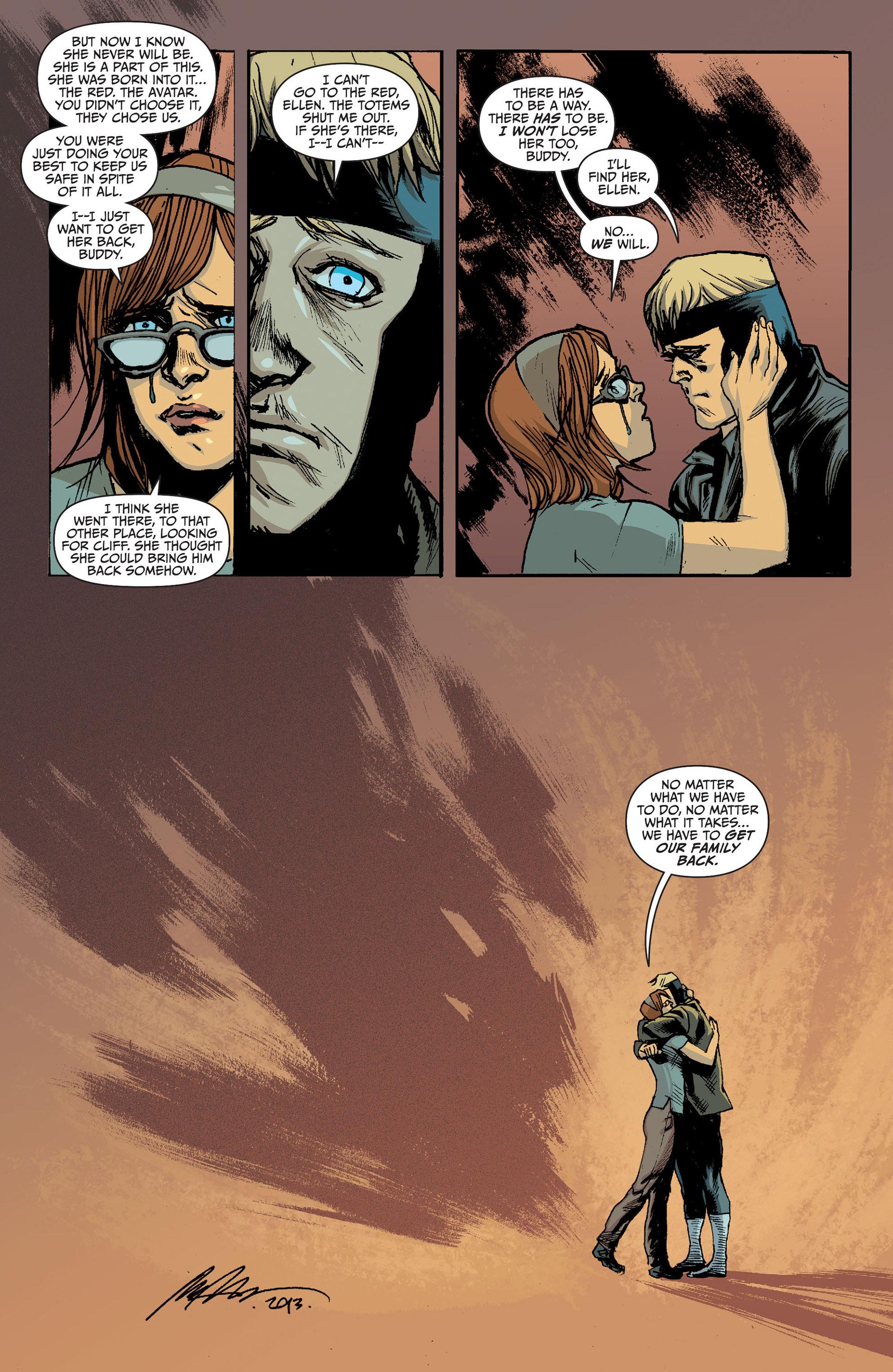 Read online Animal Man (2011) comic -  Issue #24 - 17