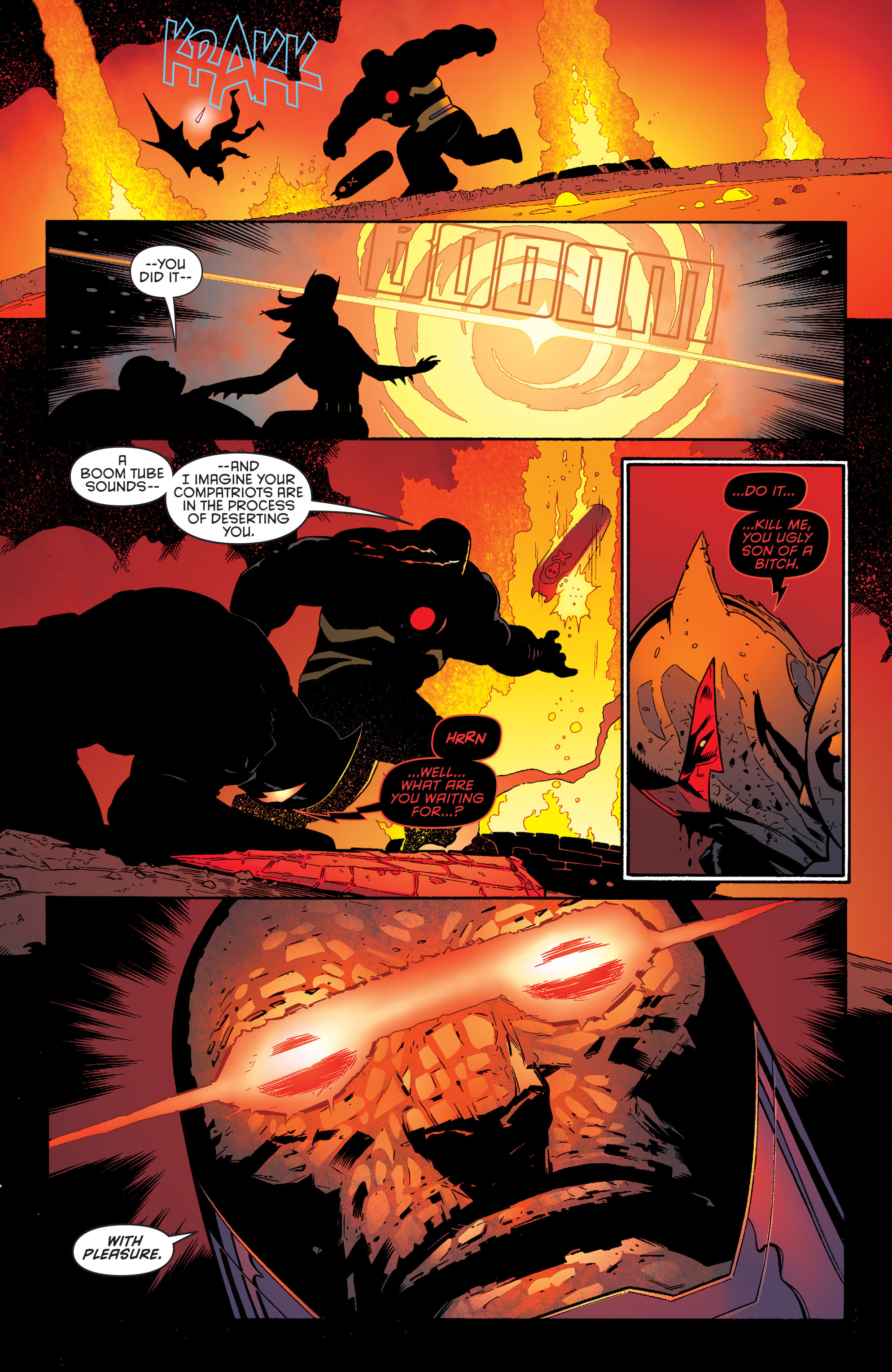 Read online Batman and Robin (2011) comic -  Issue #37 - 12