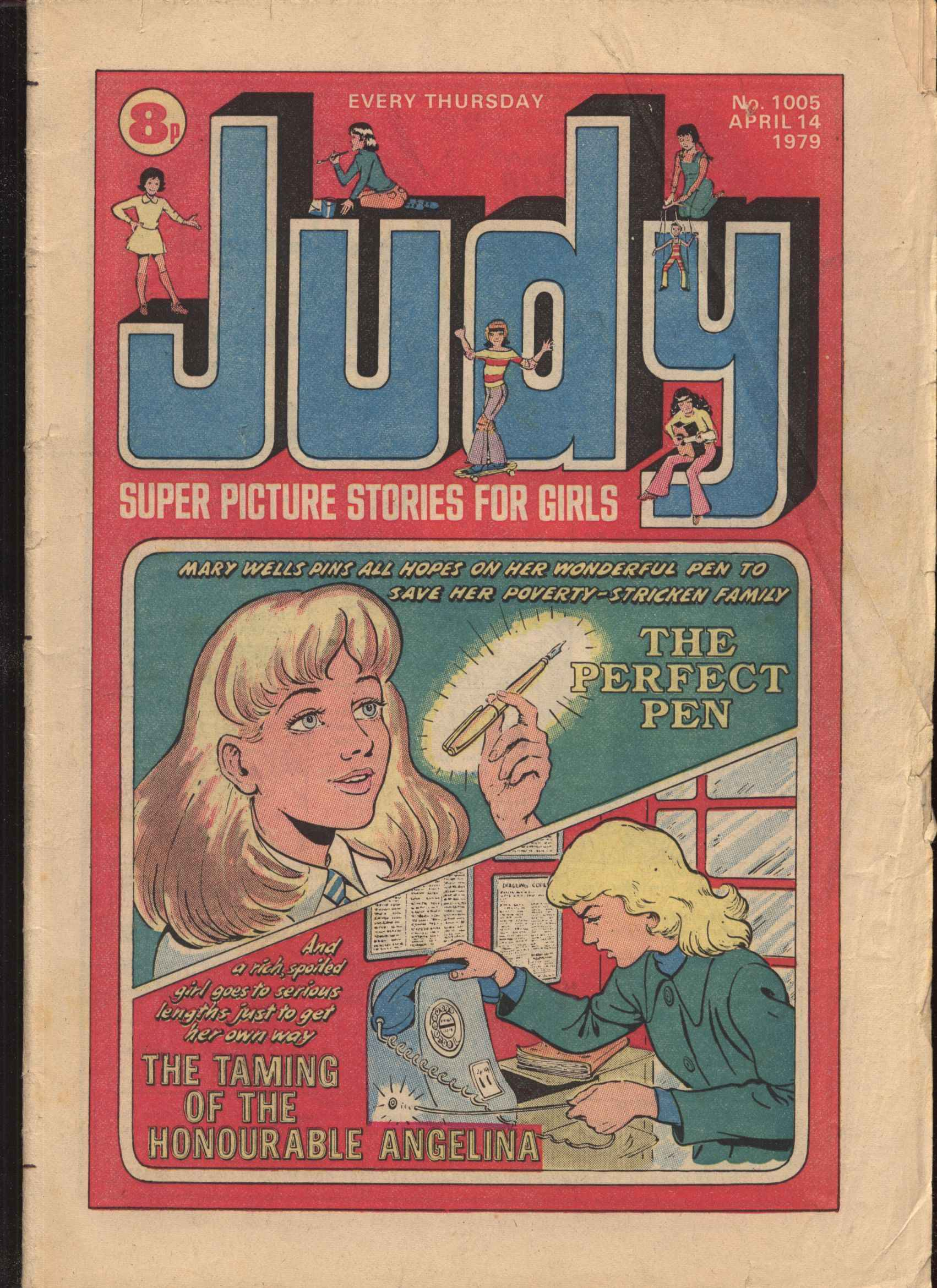 Read online Judy comic -  Issue #5 - 1