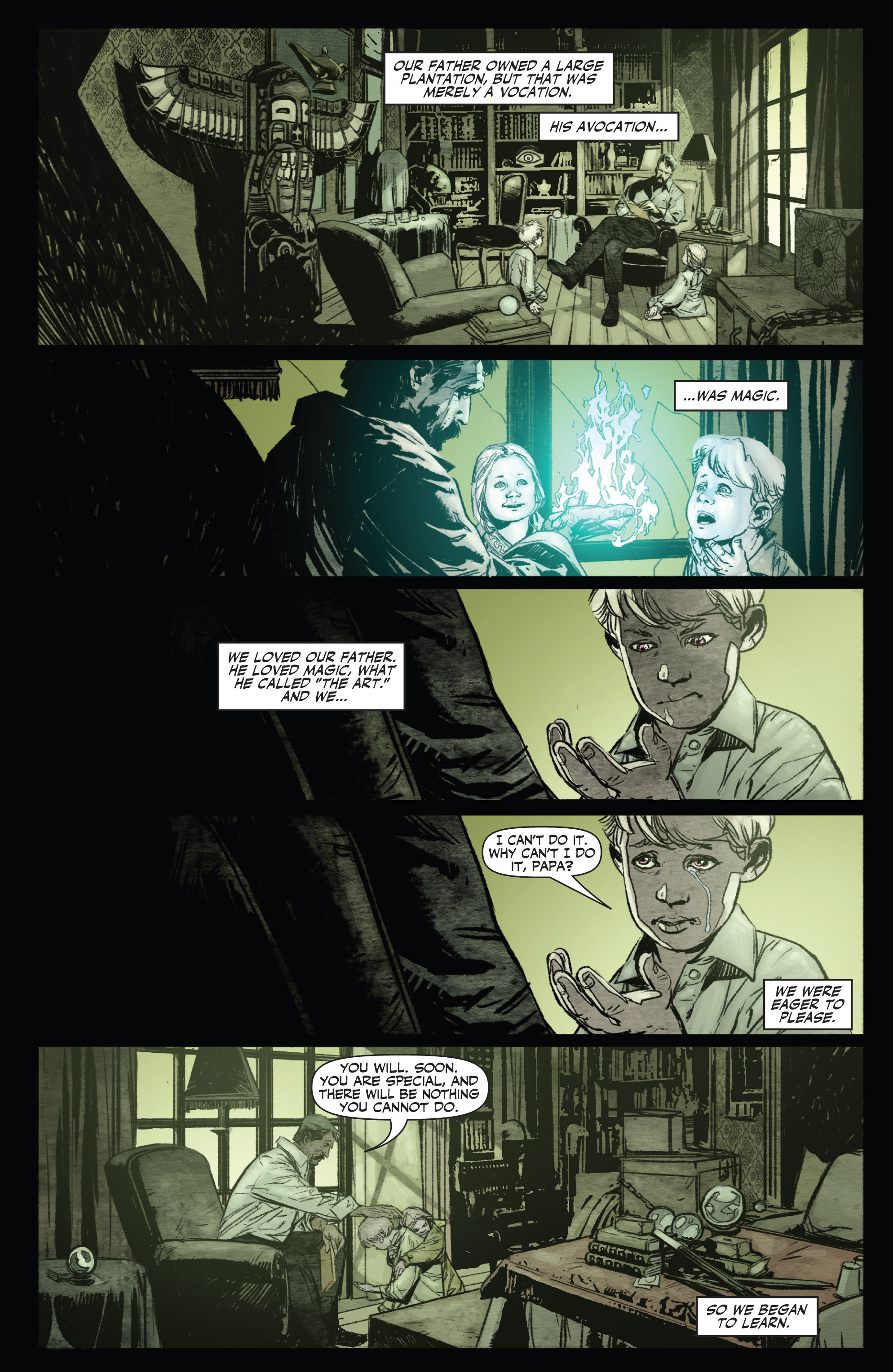 Read online Shadowman (2012) comic -  Issue #0 - 6