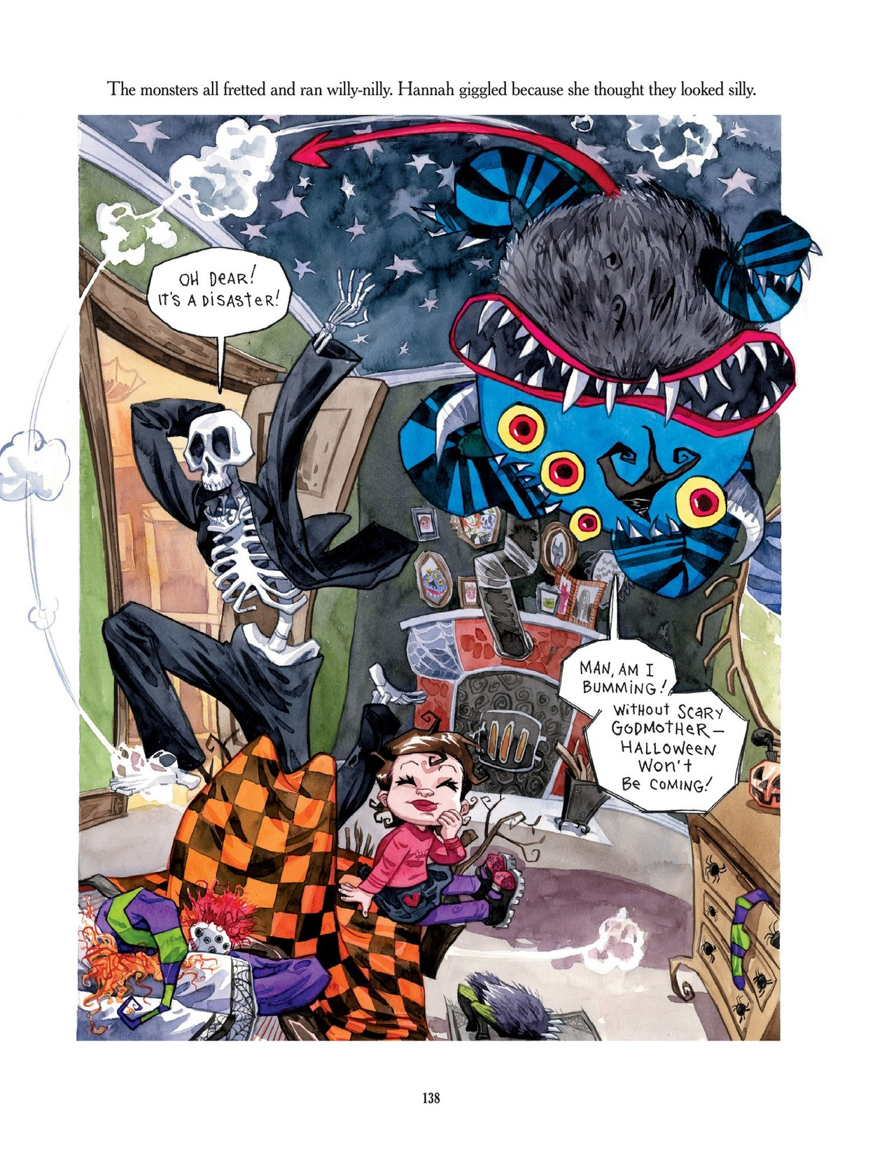 Read online Scary Godmother comic -  Issue # TPB - 138