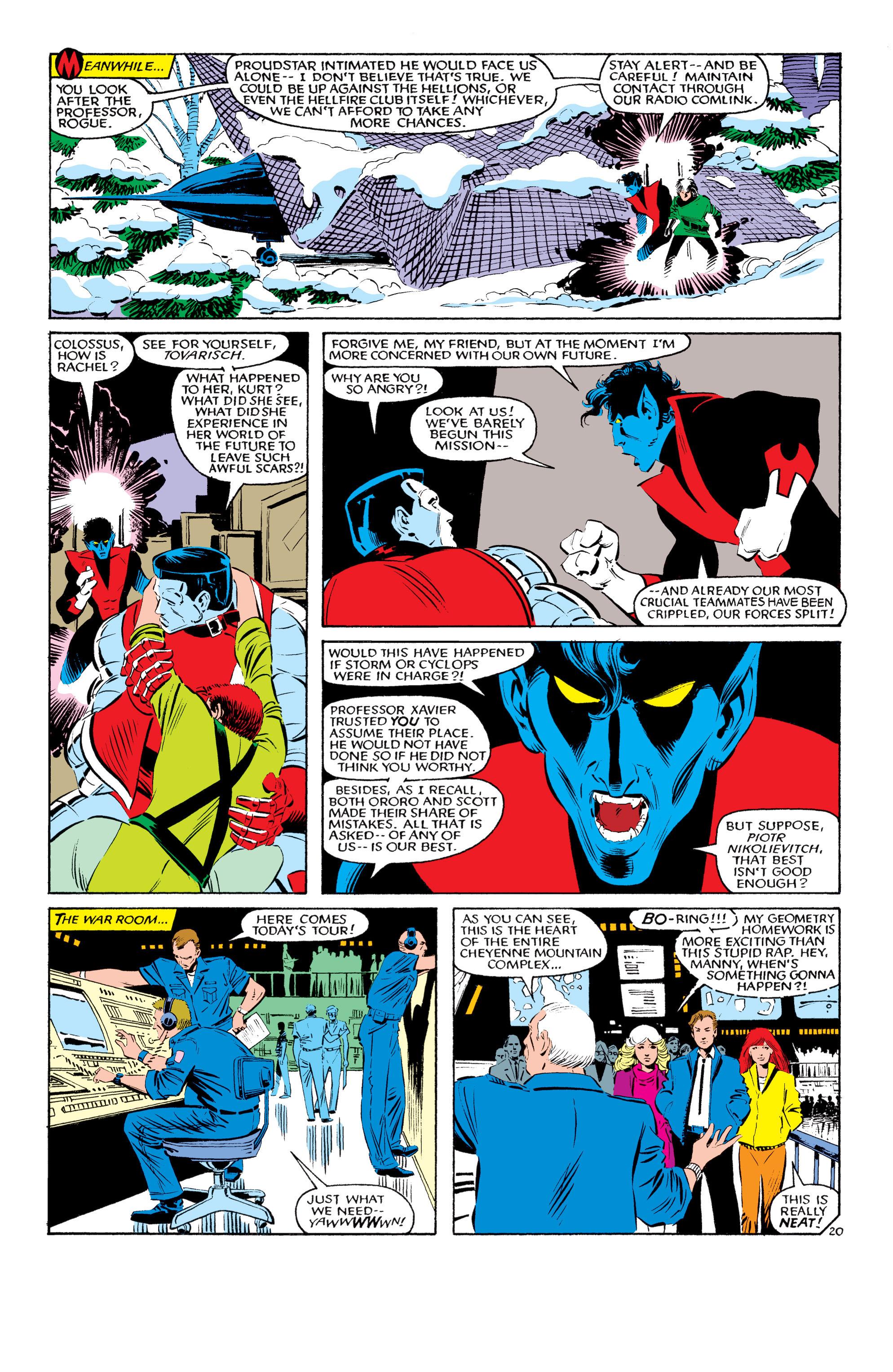 Read online Uncanny X-Men (1963) comic -  Issue #193 - 21