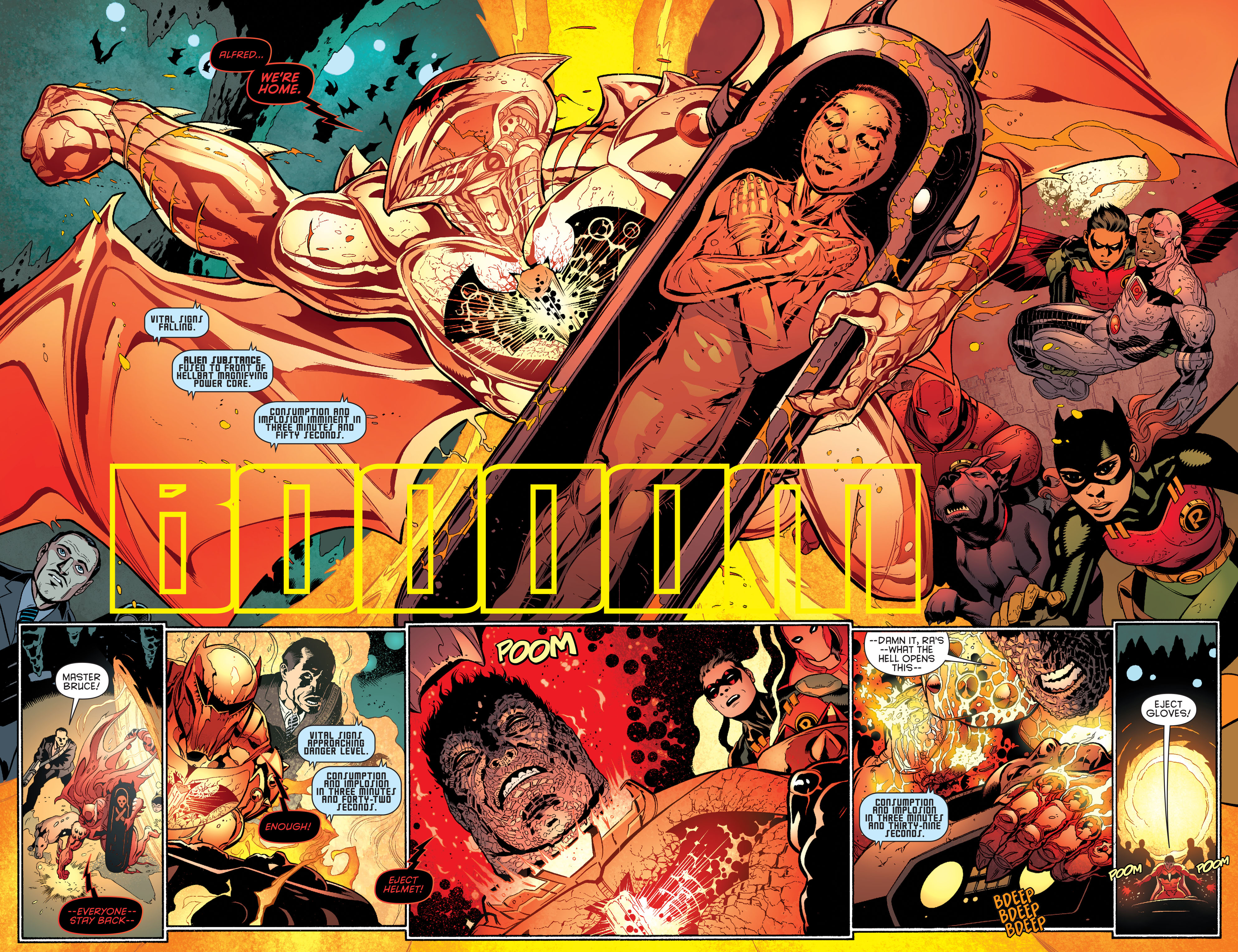 Read online Batman and Robin (2011) comic -  Issue #37 - 16
