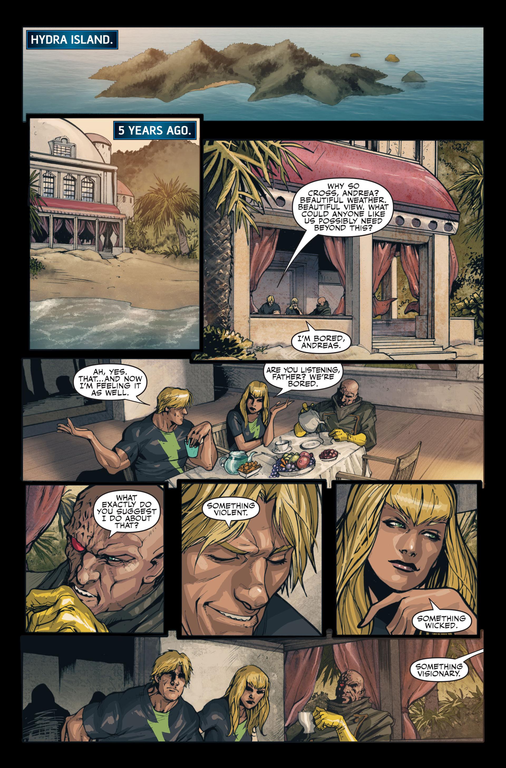 Read online Secret Warriors comic -  Issue #13 - 15