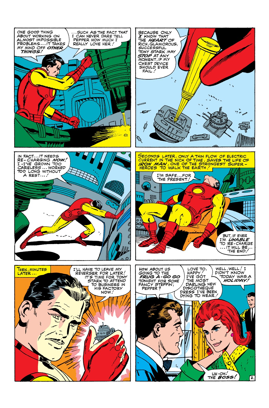 Read online Marvel Masterworks: The Invincible Iron Man comic -  Issue # TPB 3 (Part 1) - 74