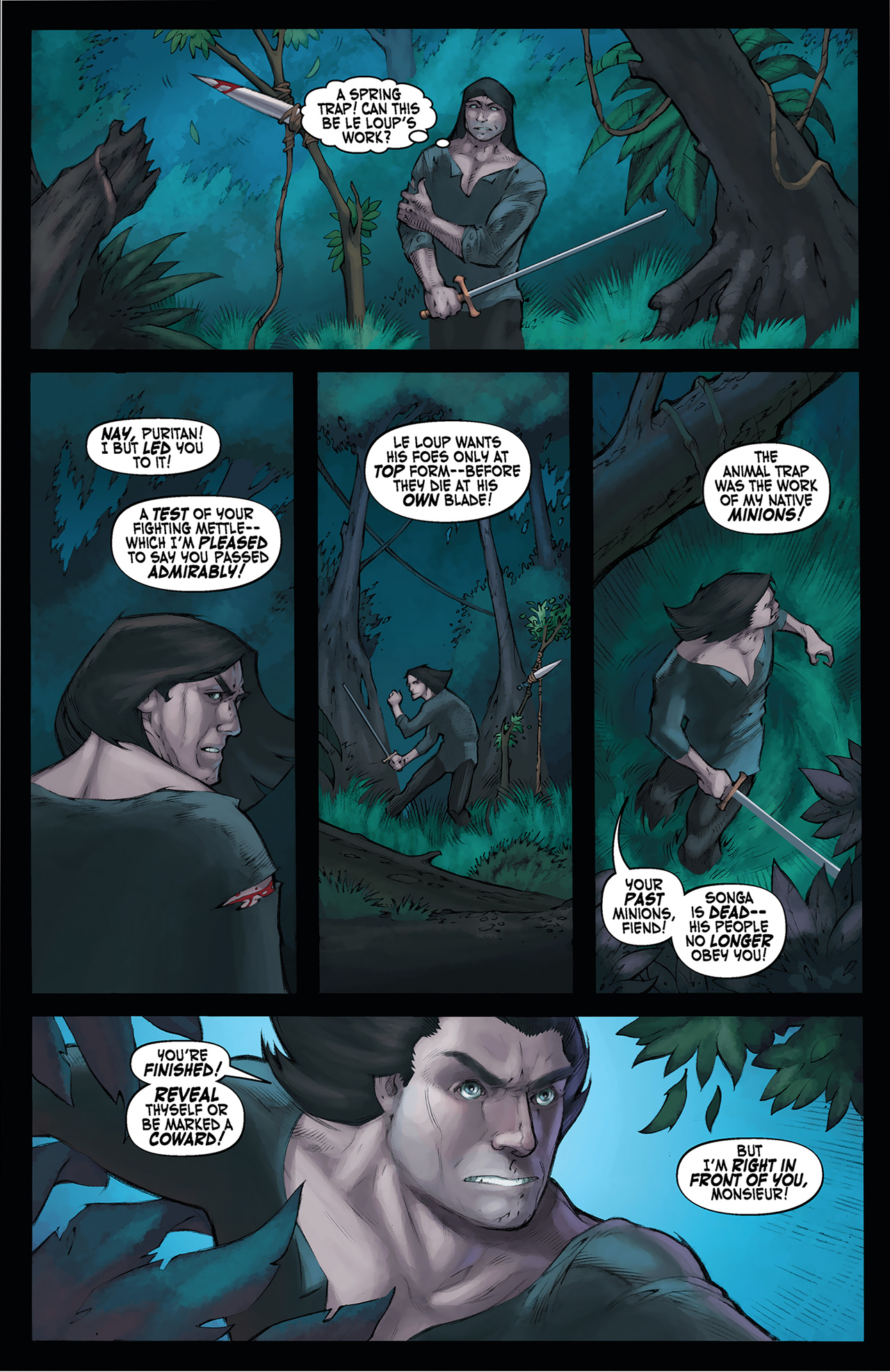 Read online Solomon Kane: Red Shadows comic -  Issue #4 - 13