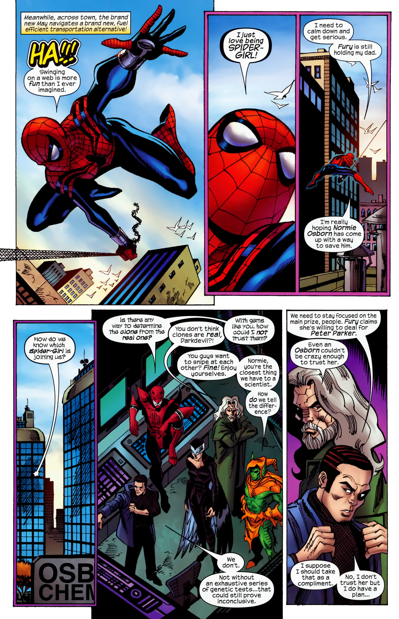 Read online Amazing Spider-Girl comic -  Issue #27 - 9