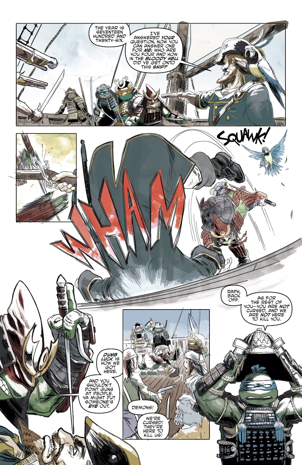 Read online Teenage Mutant Ninja Turtles: The IDW Collection comic -  Issue # TPB 5 (Part 1) - 57