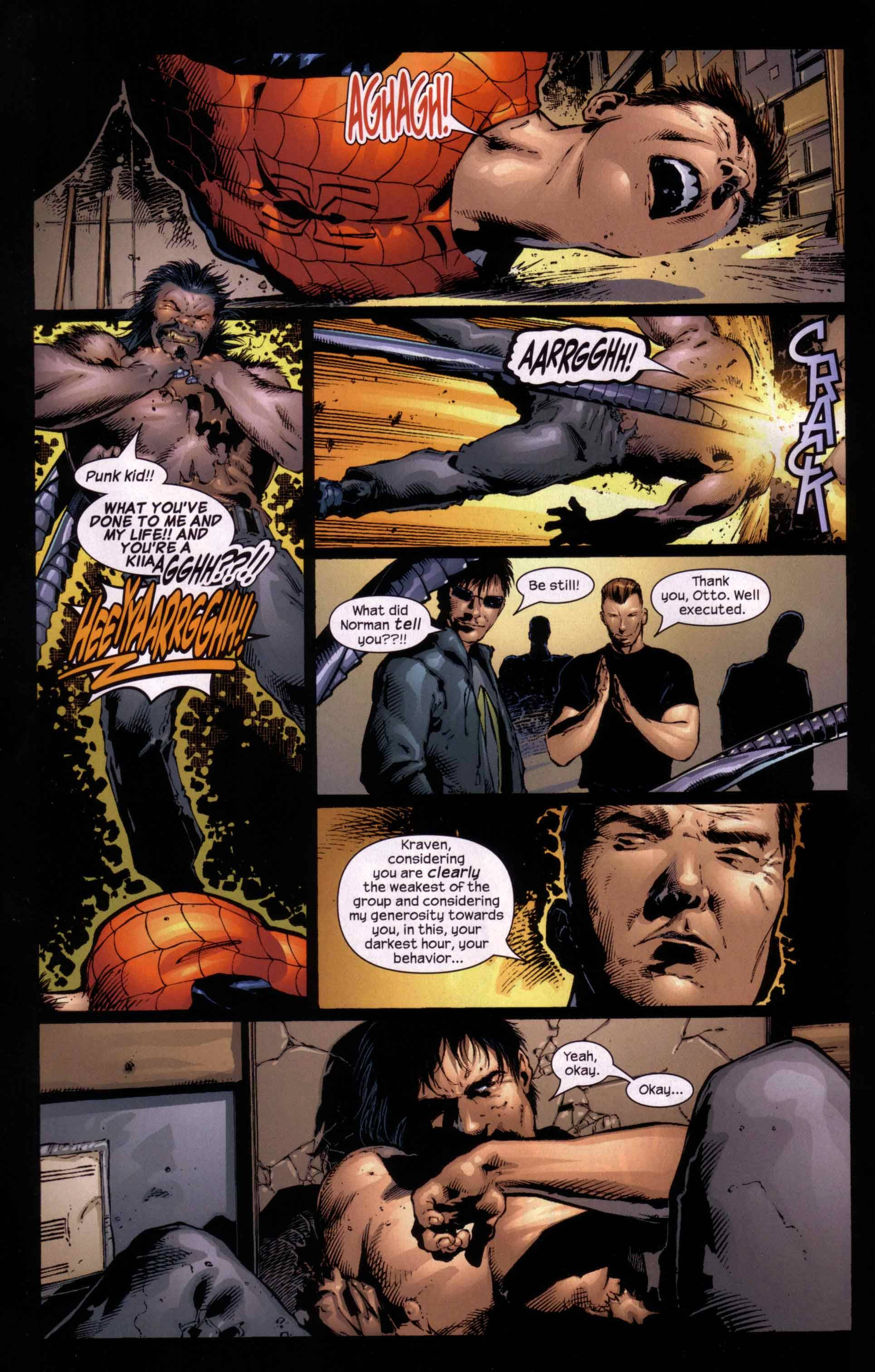 Read online Ultimate Six comic -  Issue #5 - 8