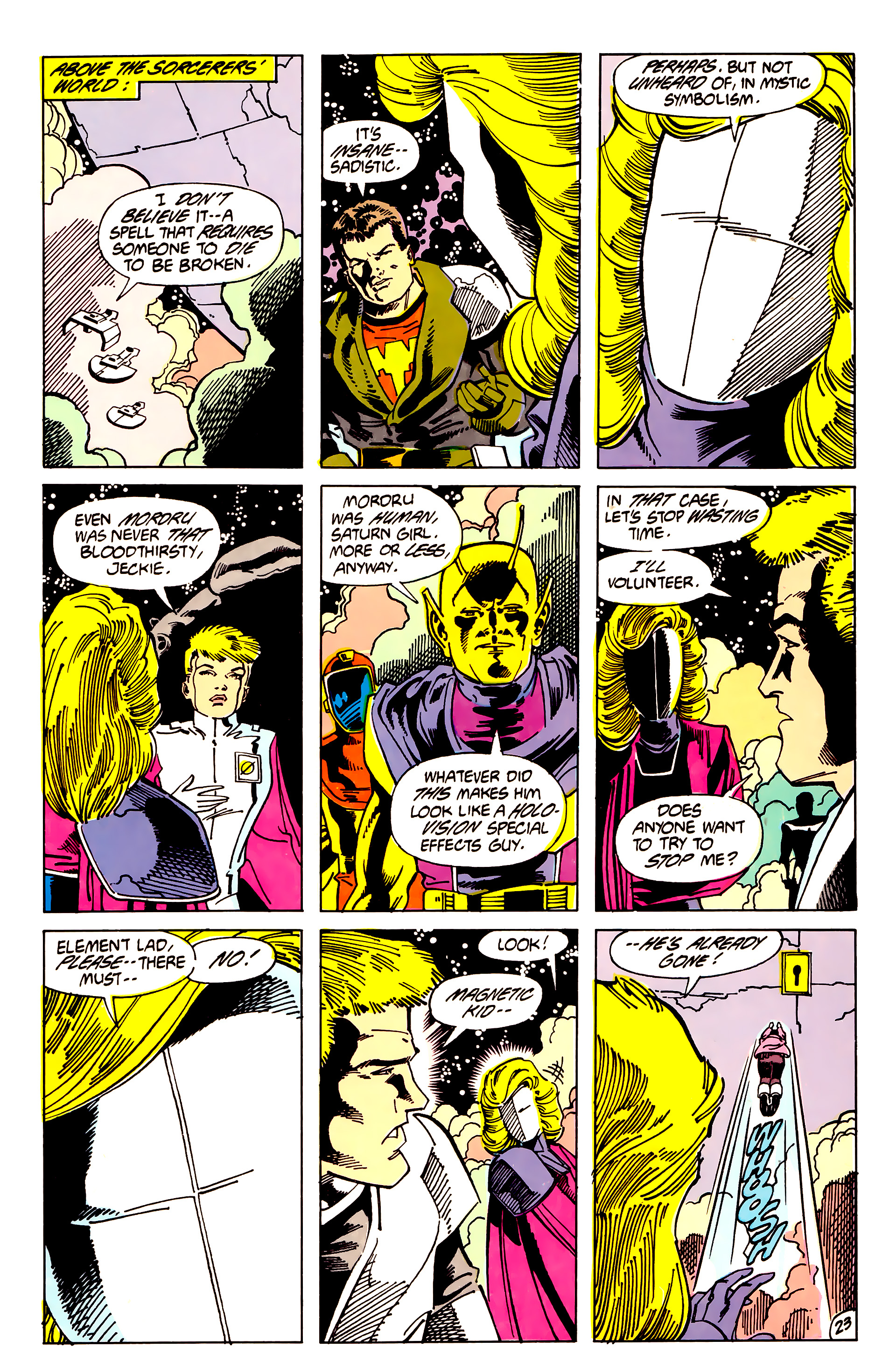 Legion of Super-Heroes (1984) 62 Page 23