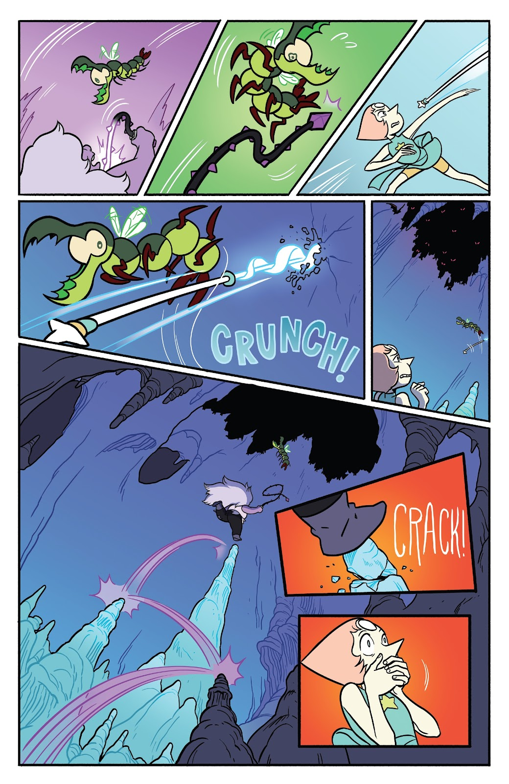 Read online Steven Universe: Fusion Frenzy comic -  Issue # Full - 28